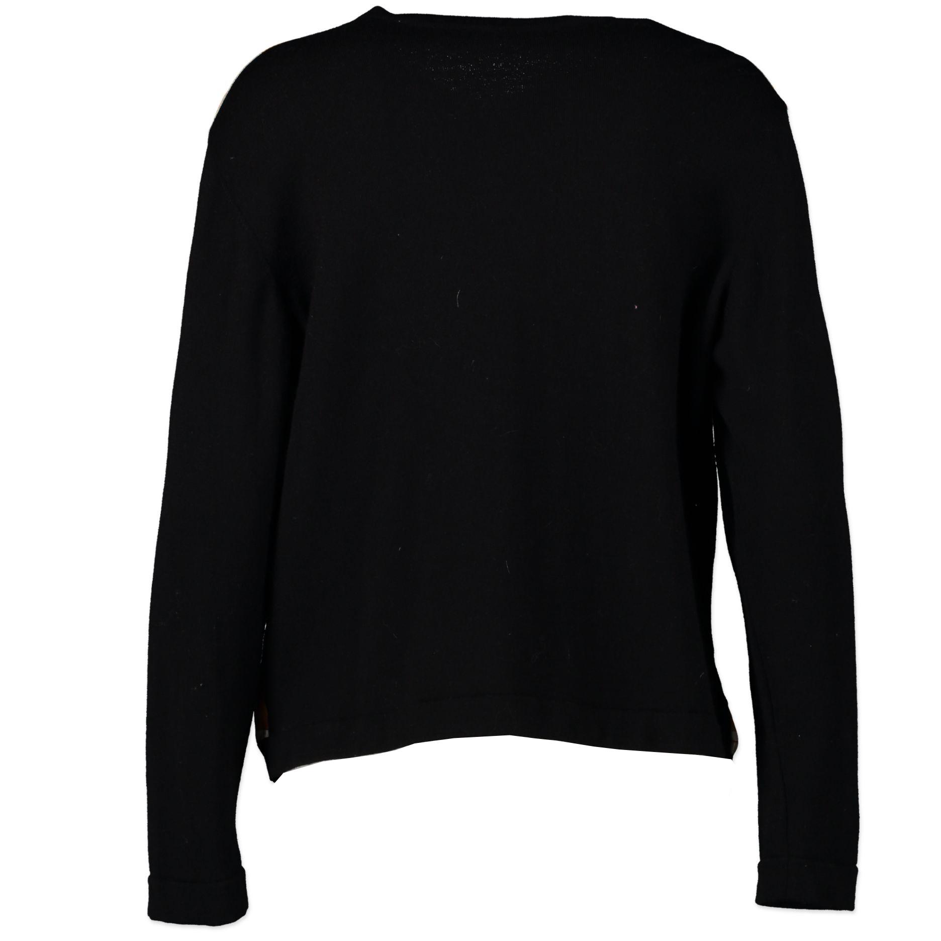 Hermès Scarf Cardigan - Size 48