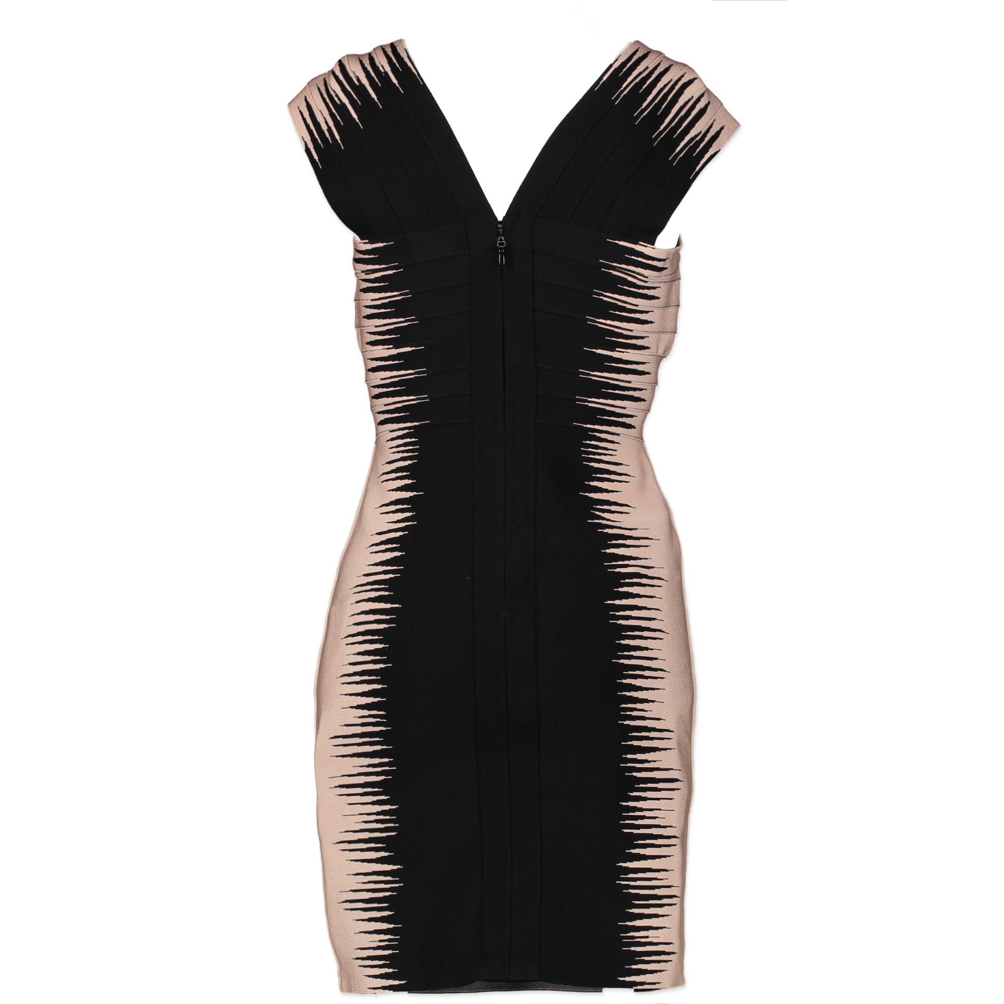 Hervé Léger Bandage Dress - size M back of the dress
