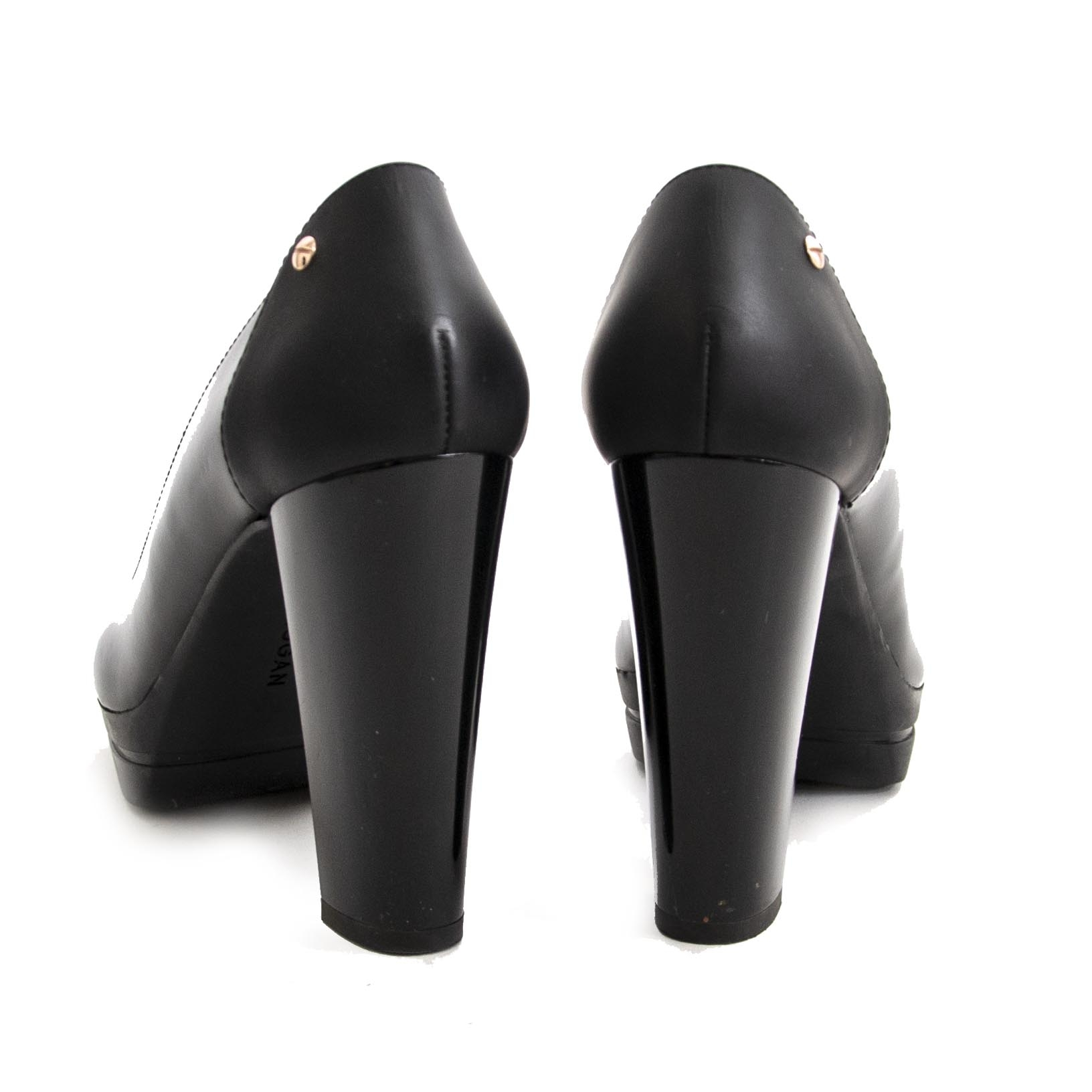 Authentieke Hogan pumps black - size 40 koop online LabelLOV webshop