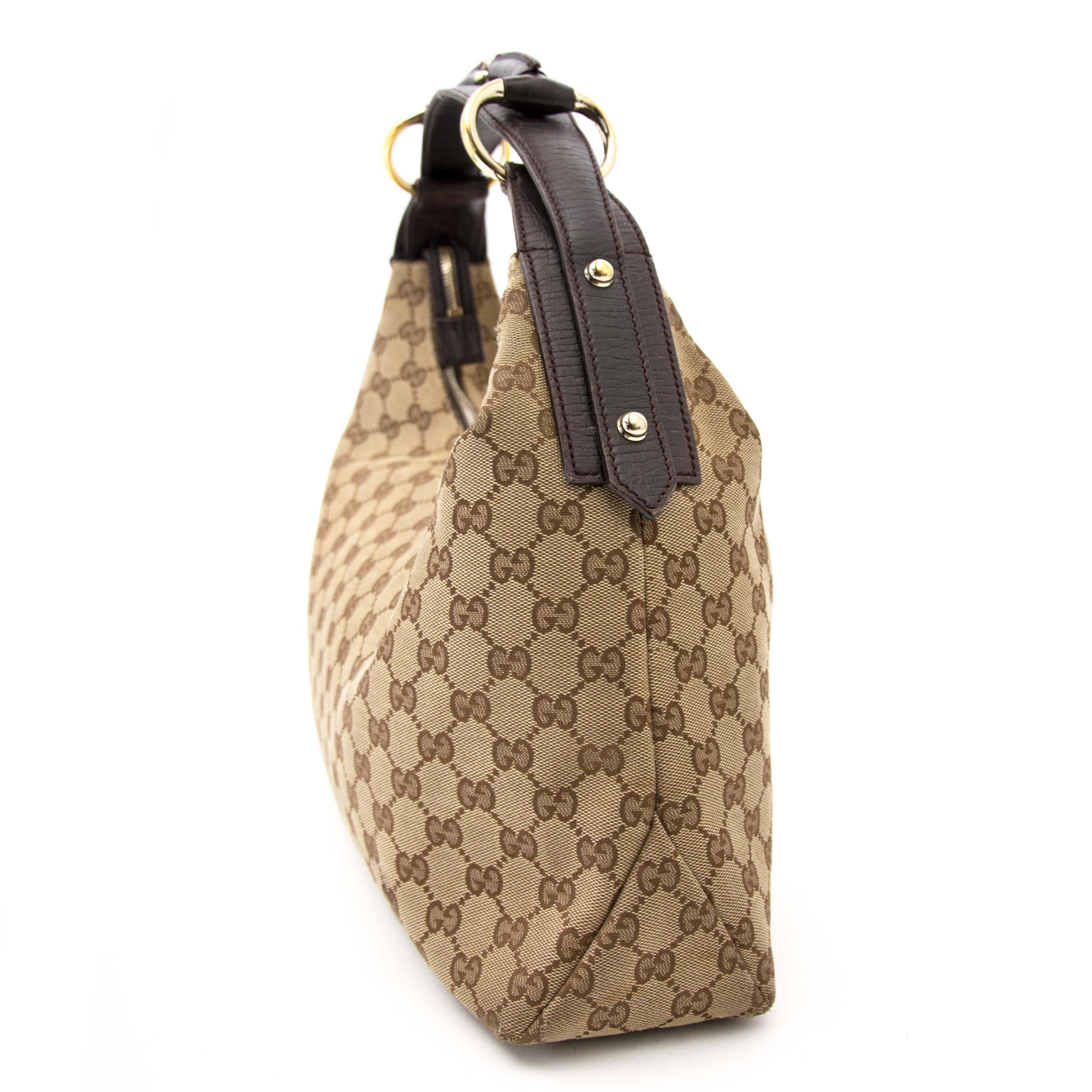 fc91c0e6041 gucci monogram bamboo nu te koop bij labellov.com tegen de beste prijs gucci  horsebit monogram bag now online at labellov.com