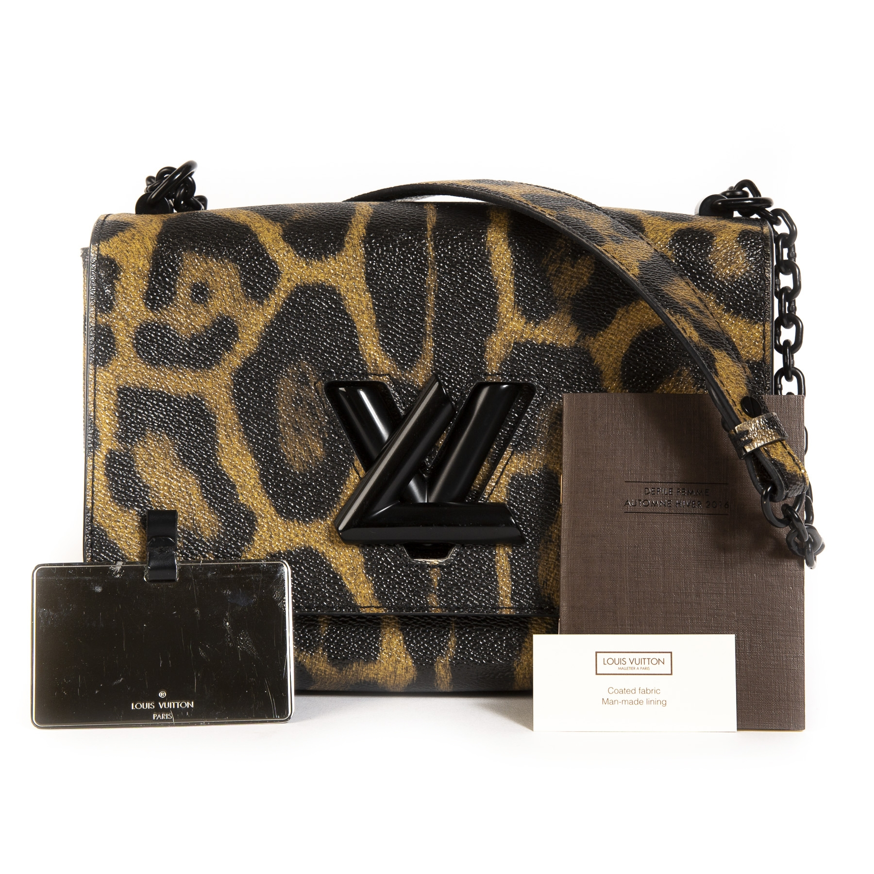 Louis Vuitton Leopard Twist MM Bag