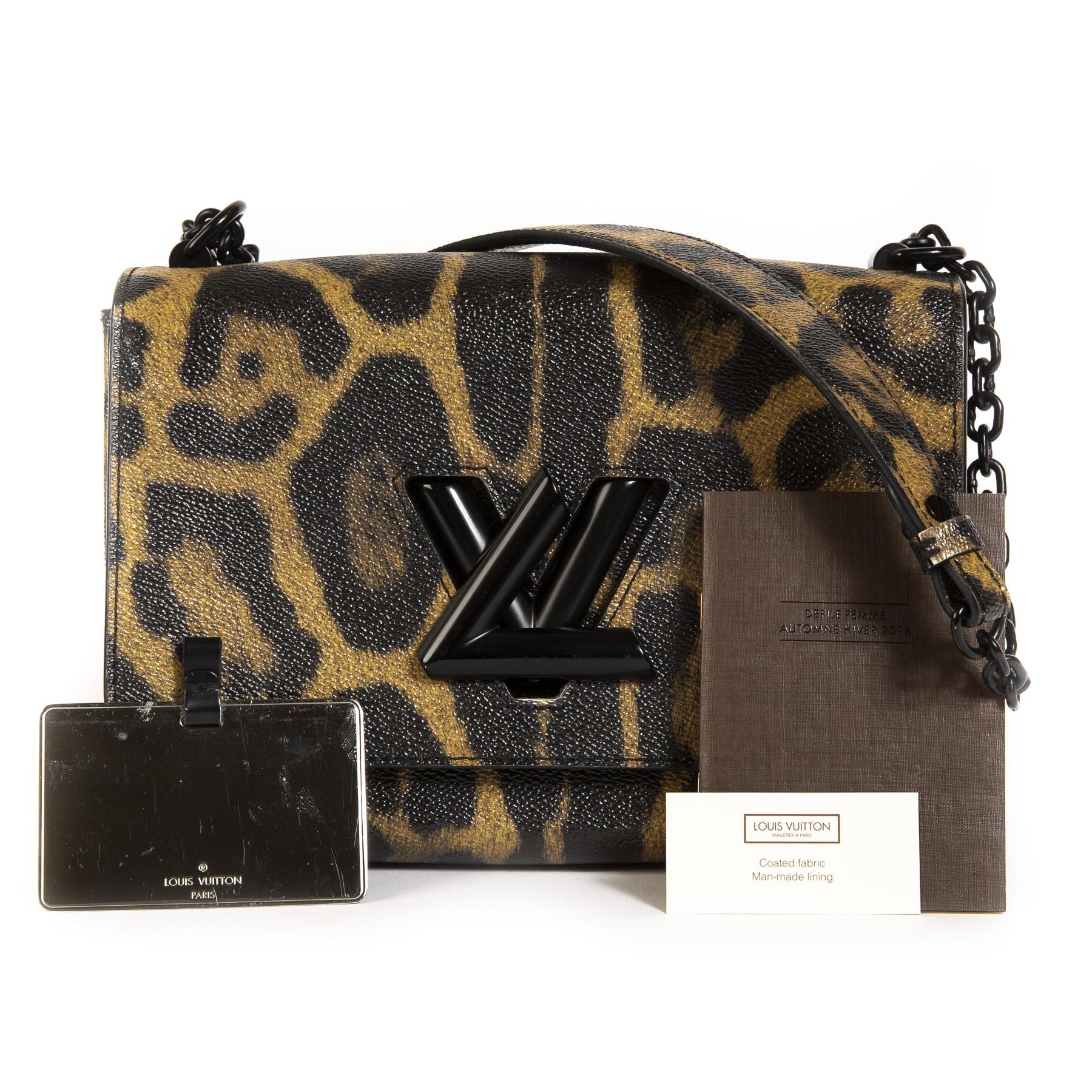 Louis Vuitton Leopard Twist MM Bag