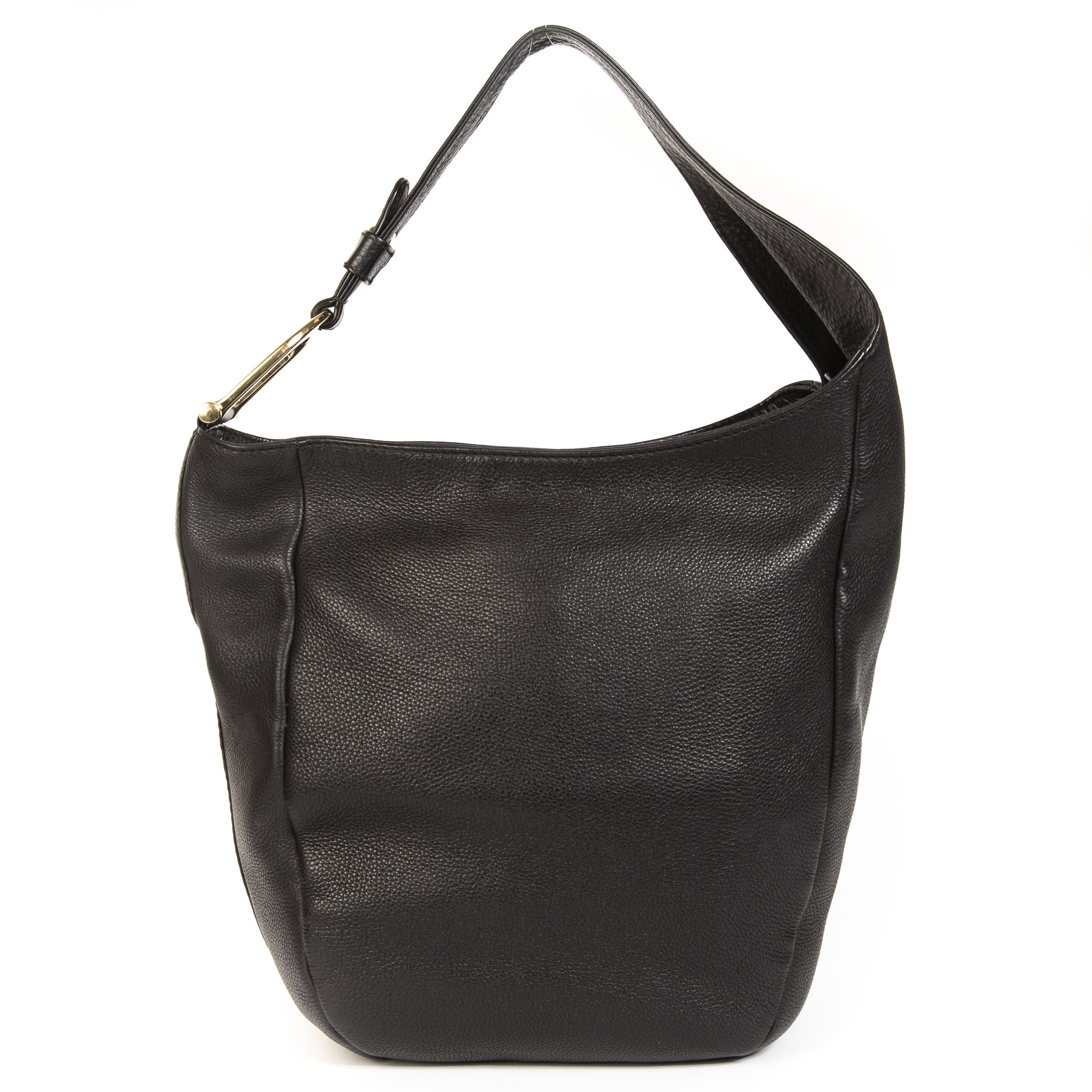 Gucci Black Greenwich Leather Hobo Large