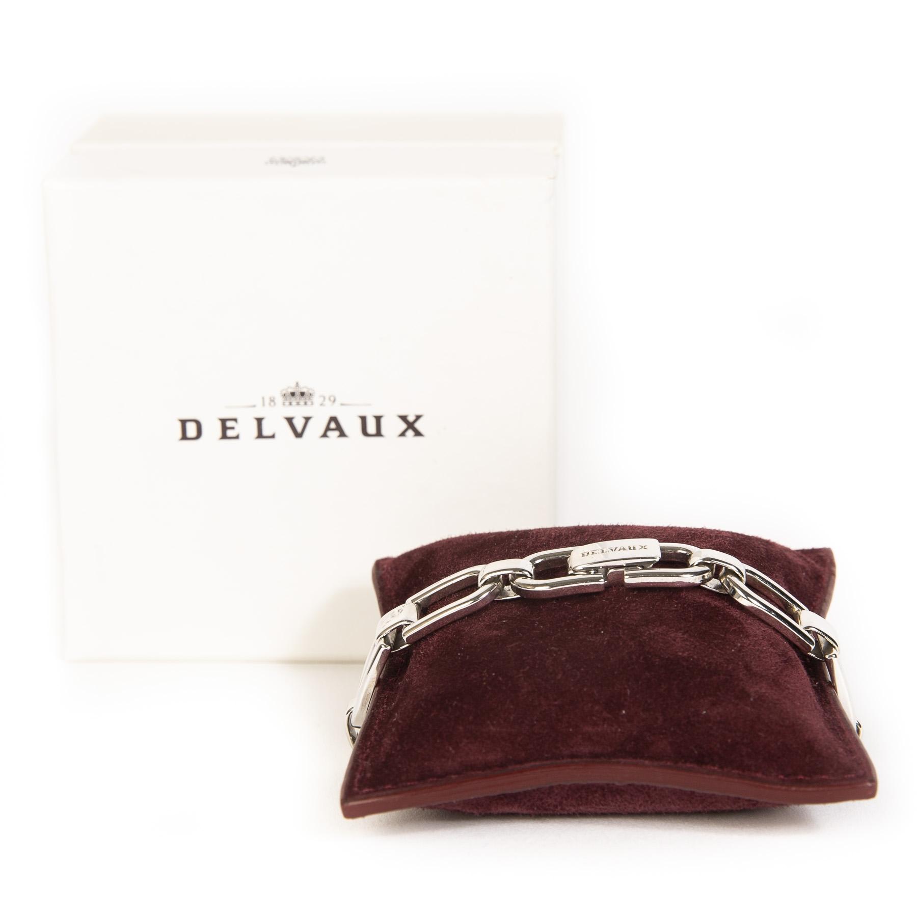 Delvaux Double D Bracelet GM