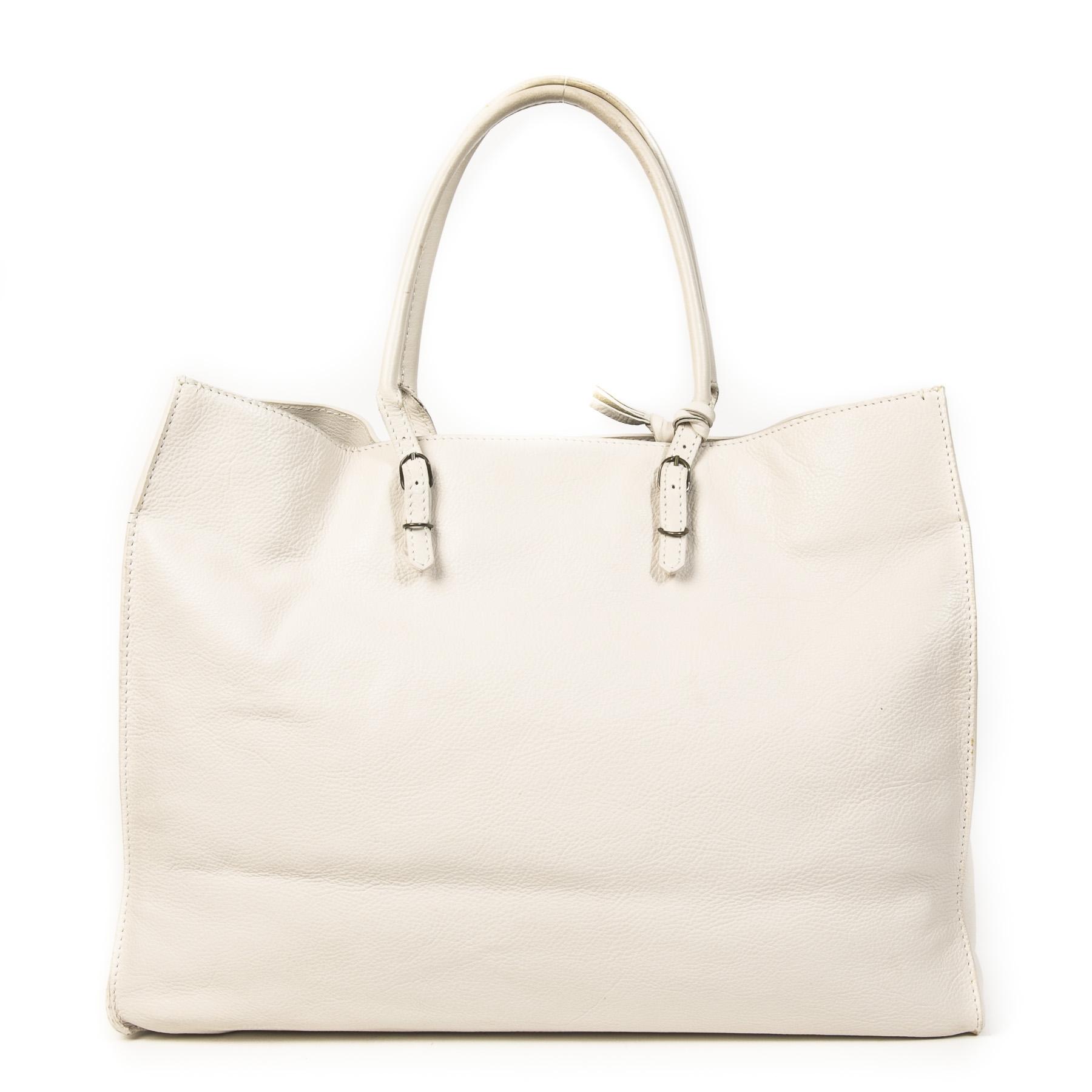 authentieke tweedehands vintage Balenciaga Papier A4 Tote Bag koop online webshop LabelLOV