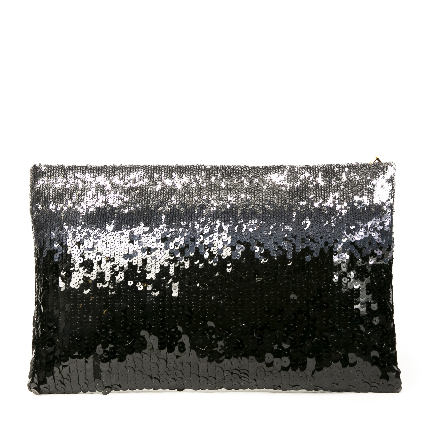 Authentic second-hand vintage  Prada Sequin Ombre Clutch Bag buy online webshop LabelLOV