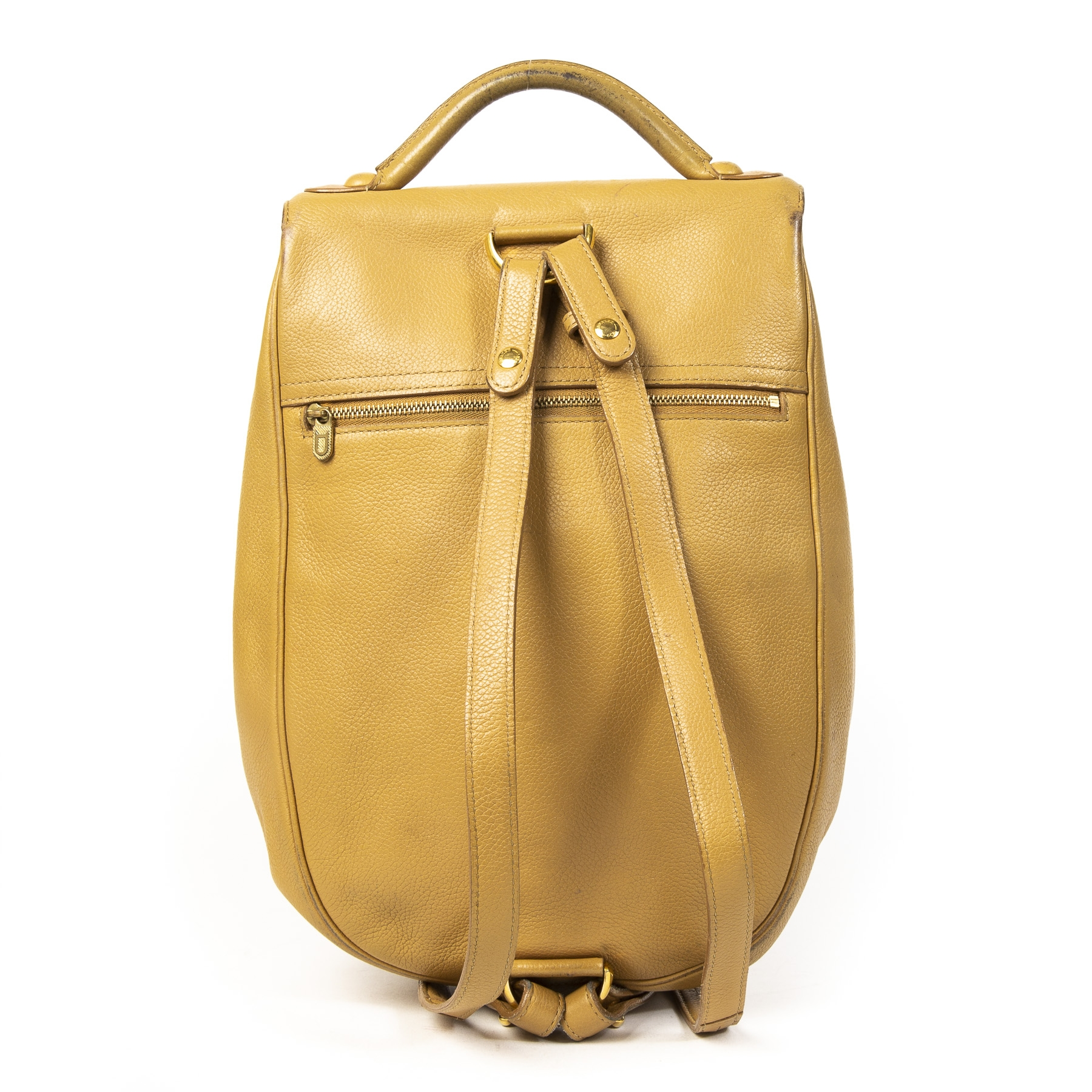 Delvaux Sand Brillant Backpack