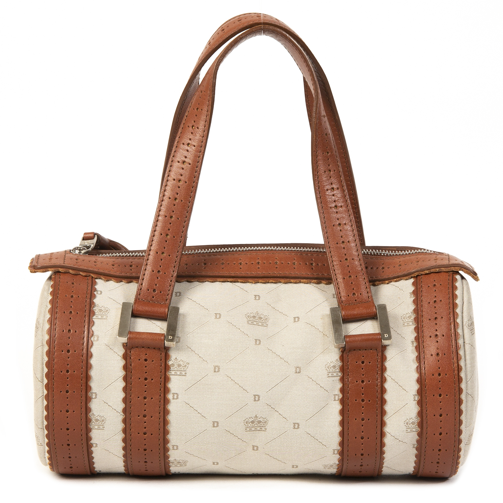 Delvaux Lily PM Fabric Bag