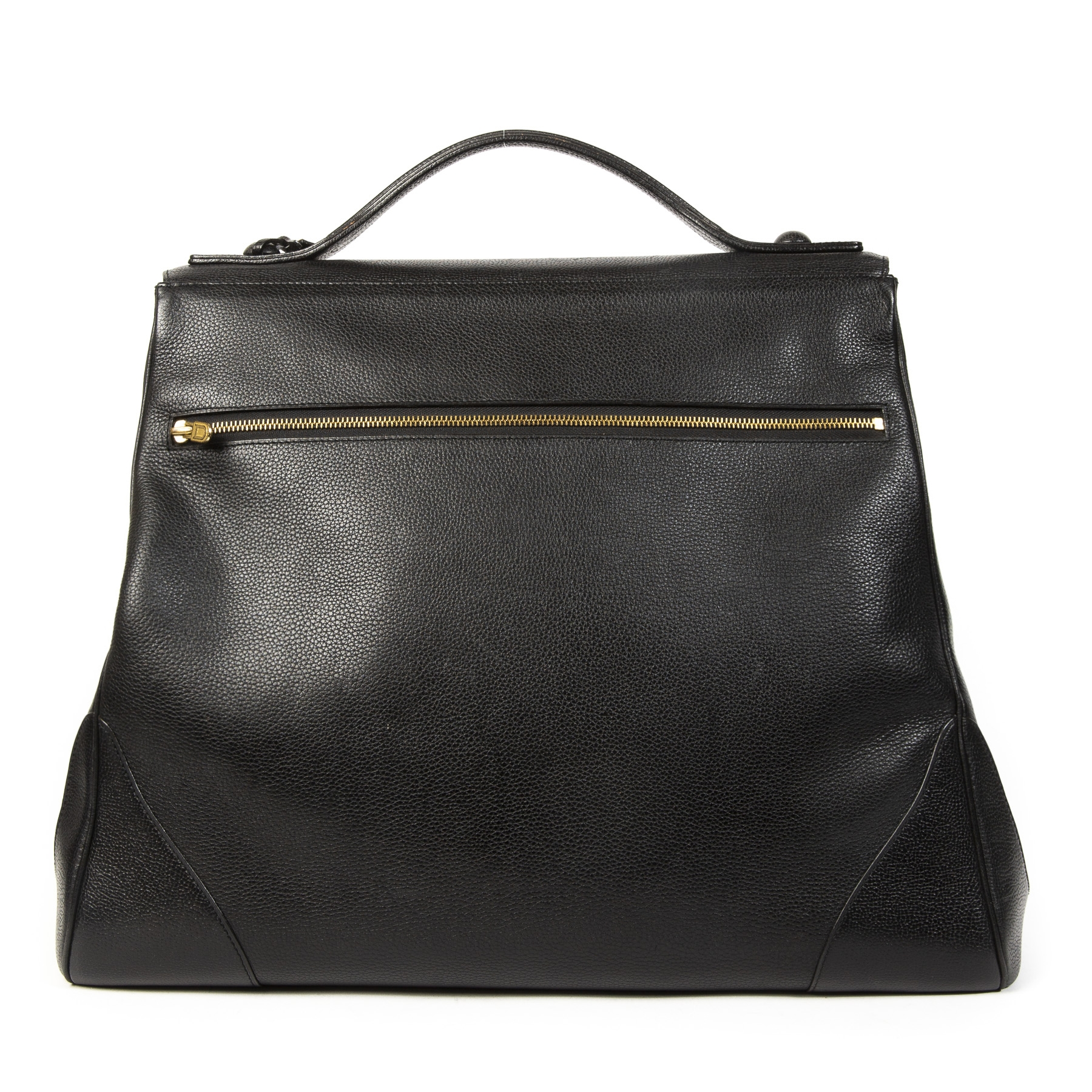 Delvaux Black Brillant GM+