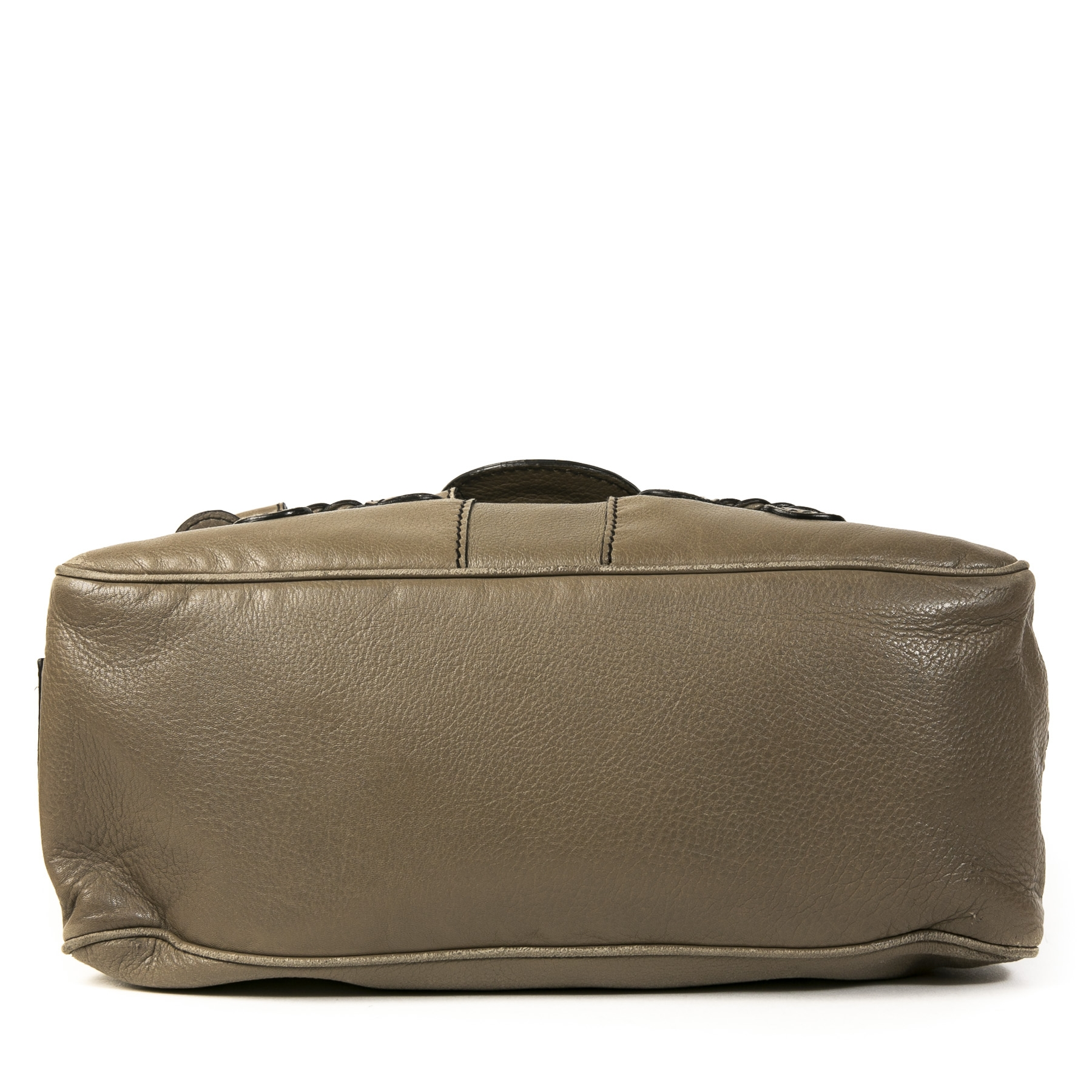 Authentieke tweedehans vintage Valentino Grey Histoire Shoulder Bag koop online webshop LabelLOV