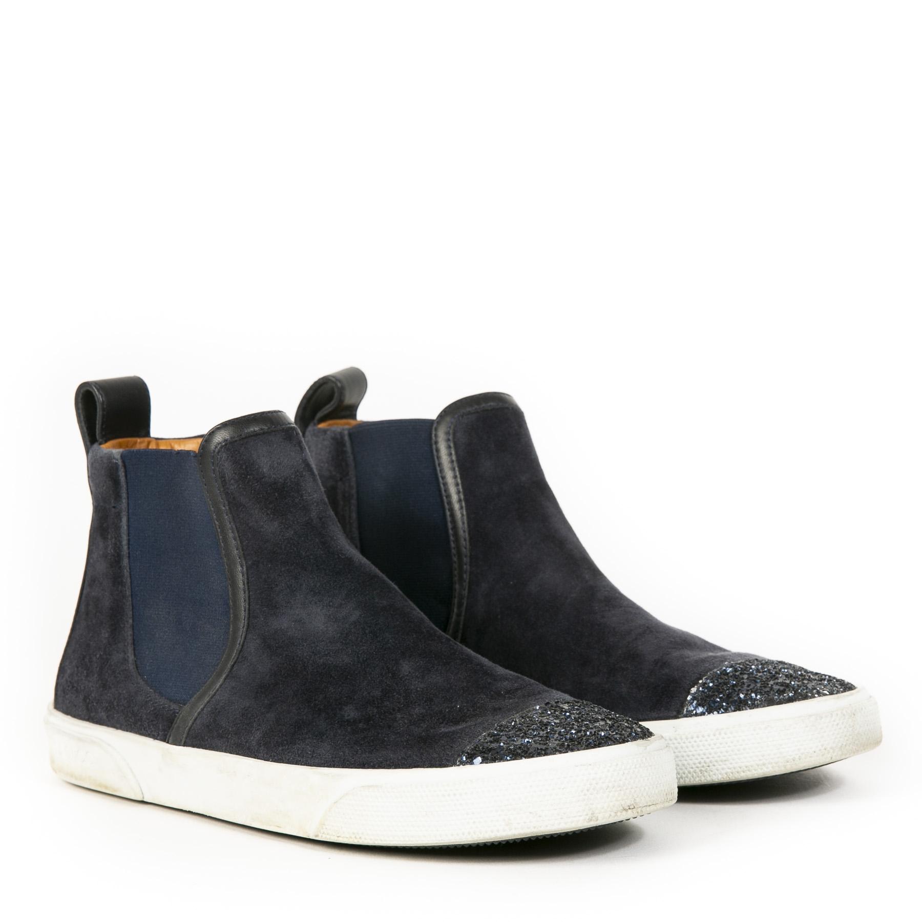 Jimmy Choo Della Blue Sneakers - Size 38