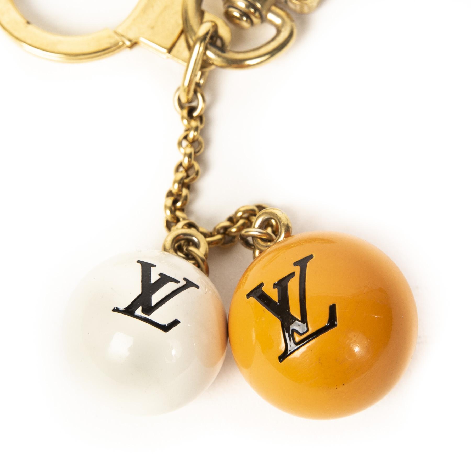 Authentieke Tweedehands Louis Vuitton Limited Edition Jack & Lucie Bag Charm juiste prijs veilig online shoppen luxe merken webshop mode fashion winkelen Antwerpen België