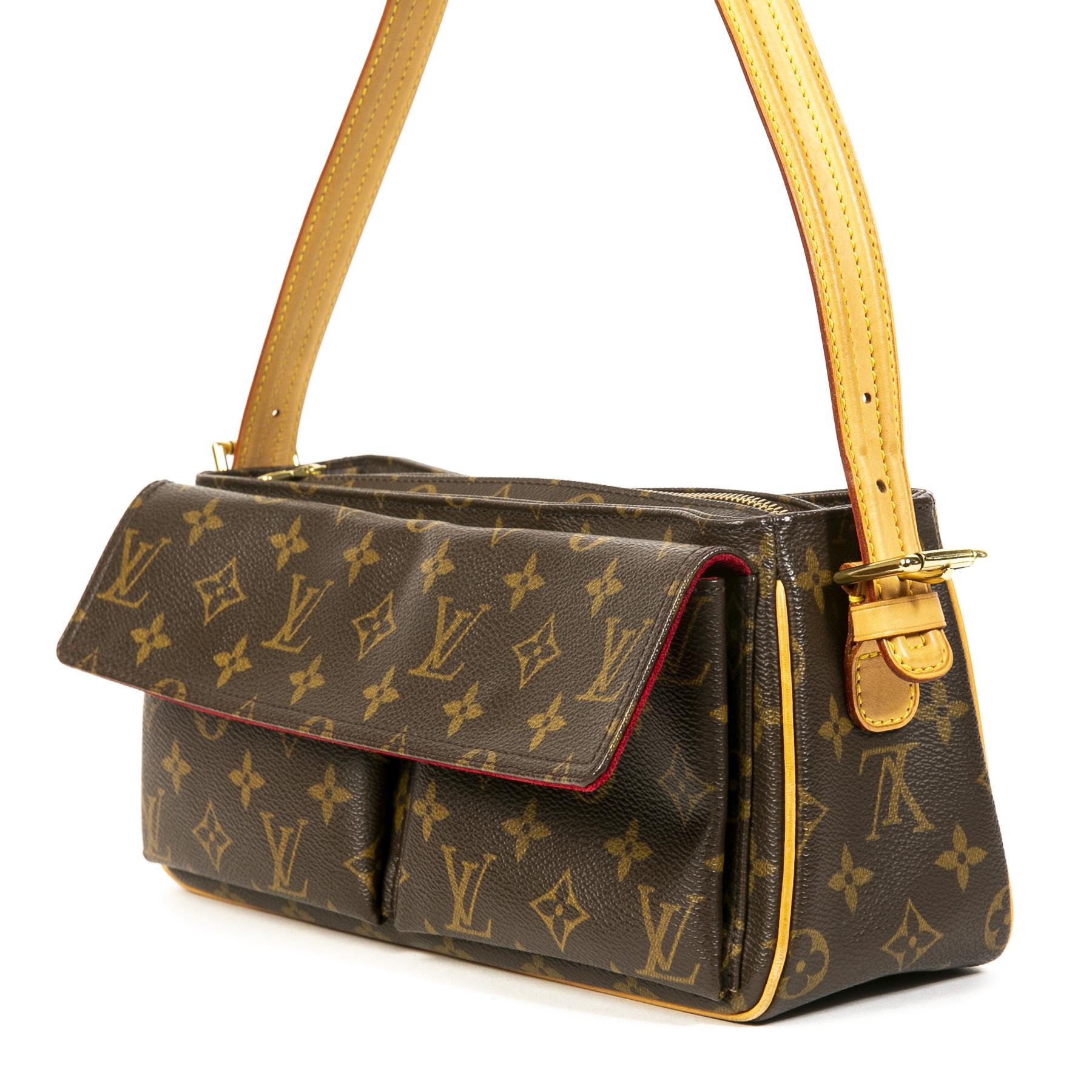 We buy and sell your authentic Louis Vuitton Monogram Viva Cité Shoulder Bag