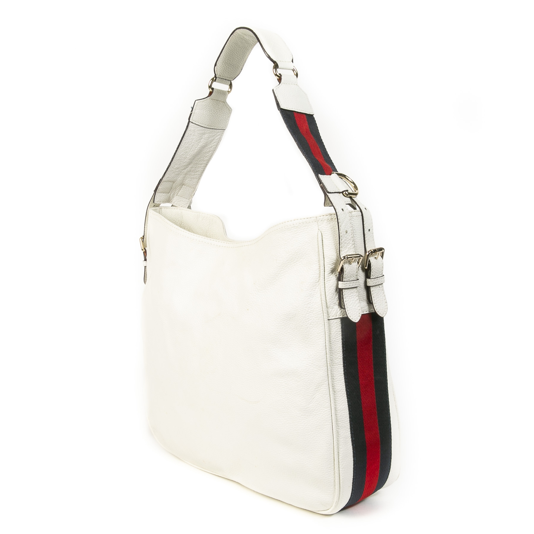 Gucci Heritage White Shoulder Bag