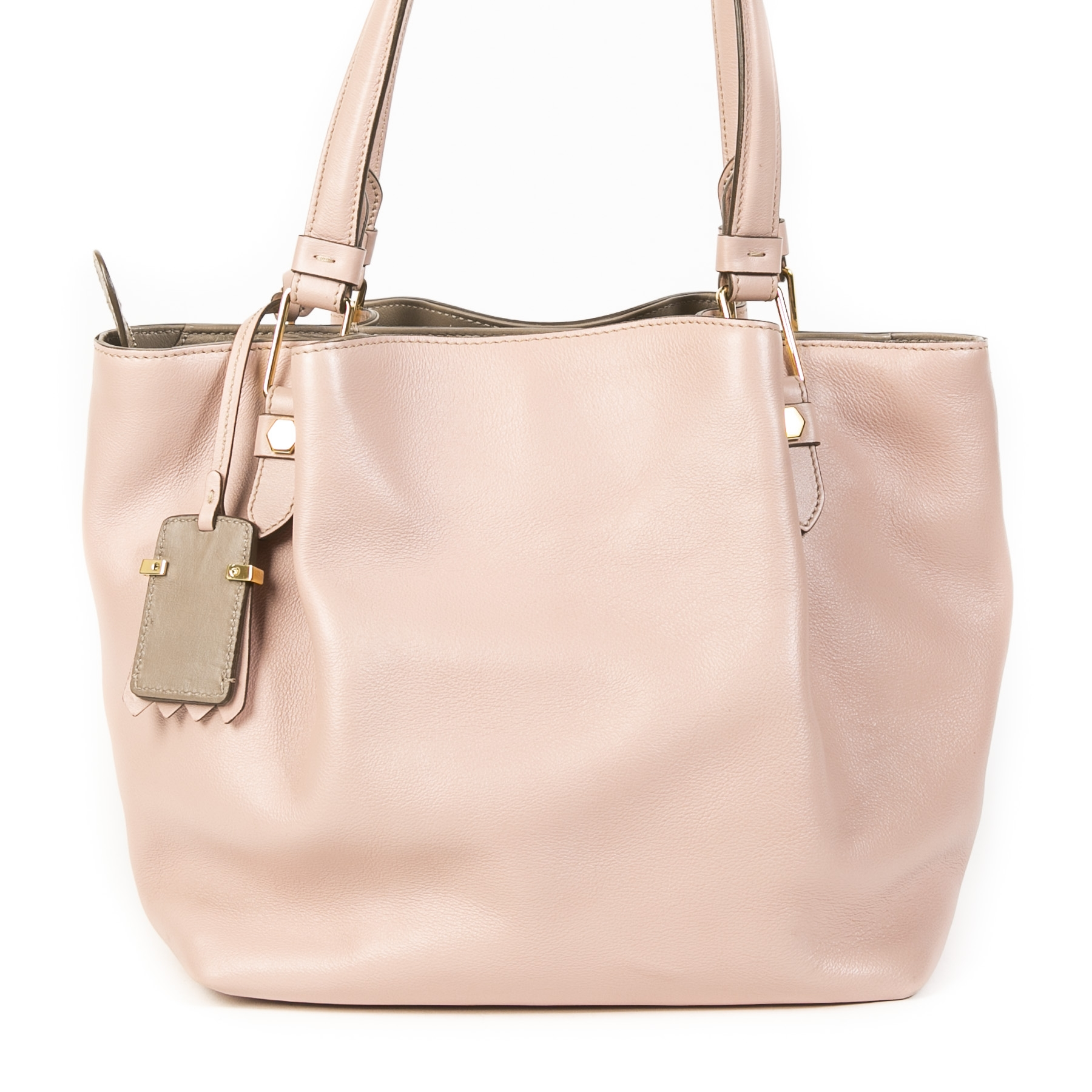 We buy and sell your authentic Tods Pink Mini Flower Shopping Bag