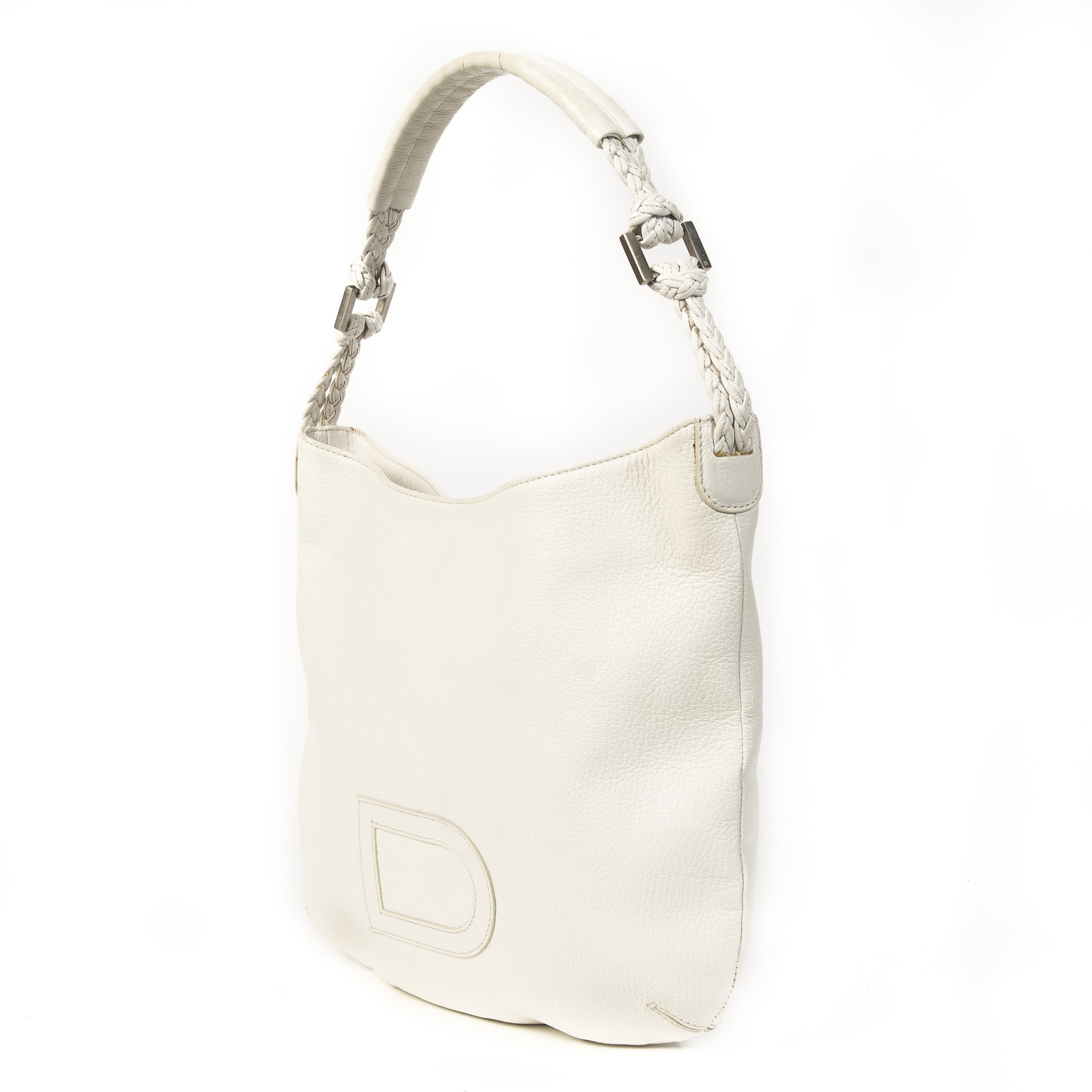 Delvaux Le Louise White Shoulder Bag