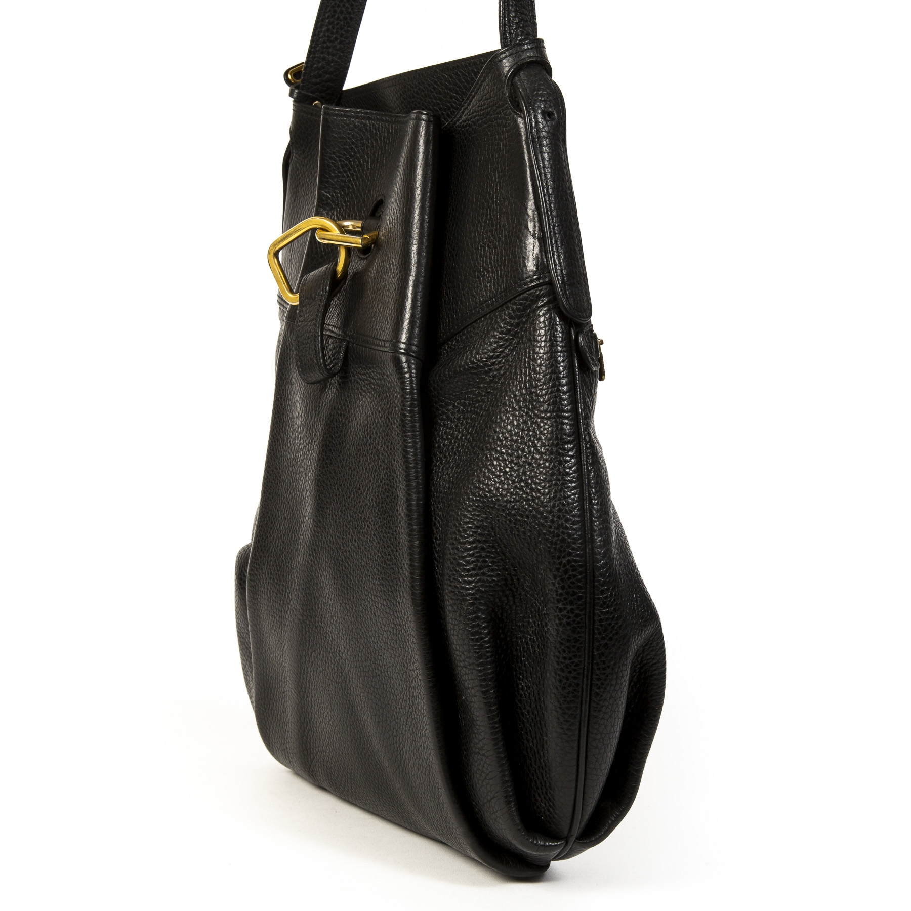 Delvaux Black Faust Bag for the best price available online at Labellov secondhand luxury