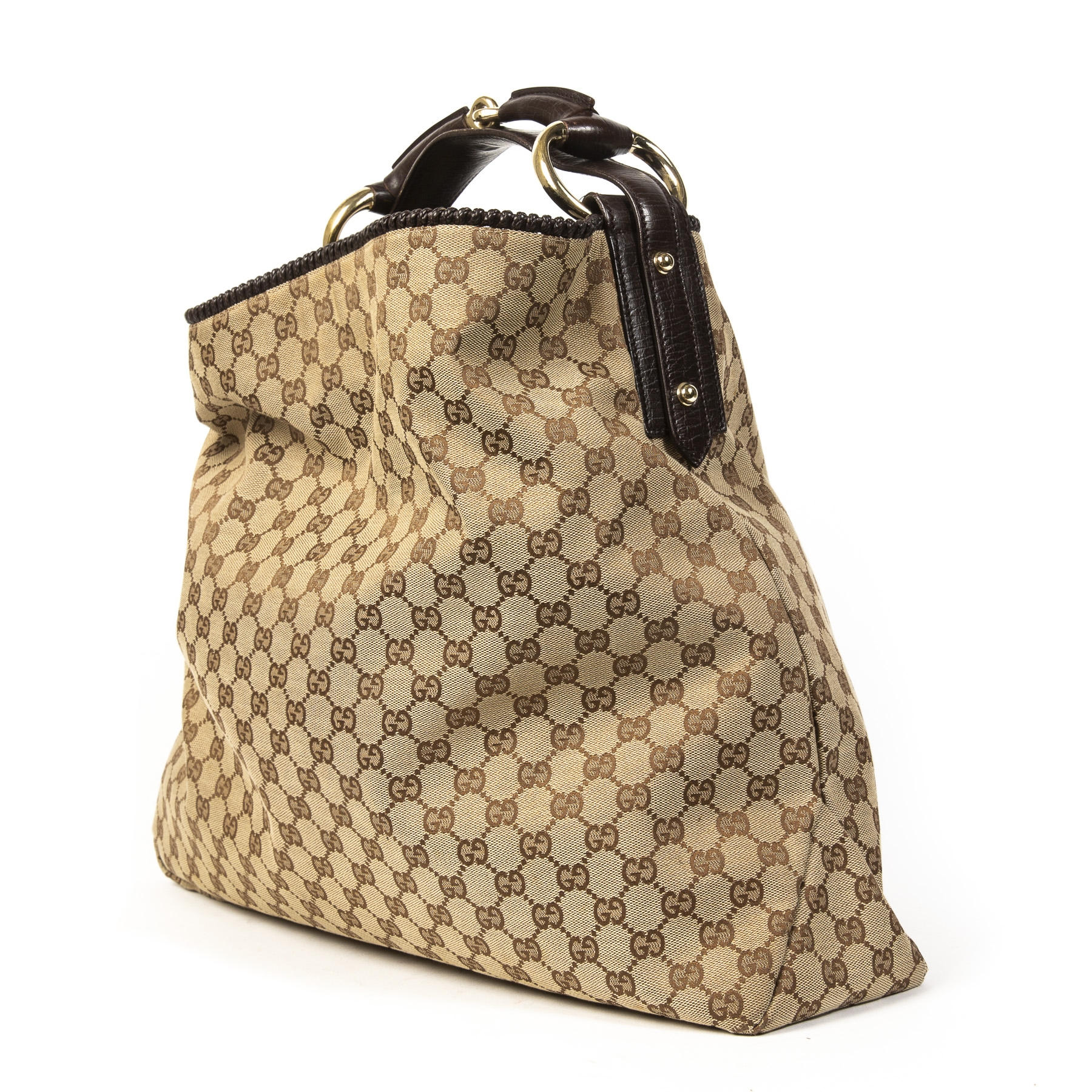 Gucci Monogram Shoulder Tote aan de beste prijs te koop bij Labellov