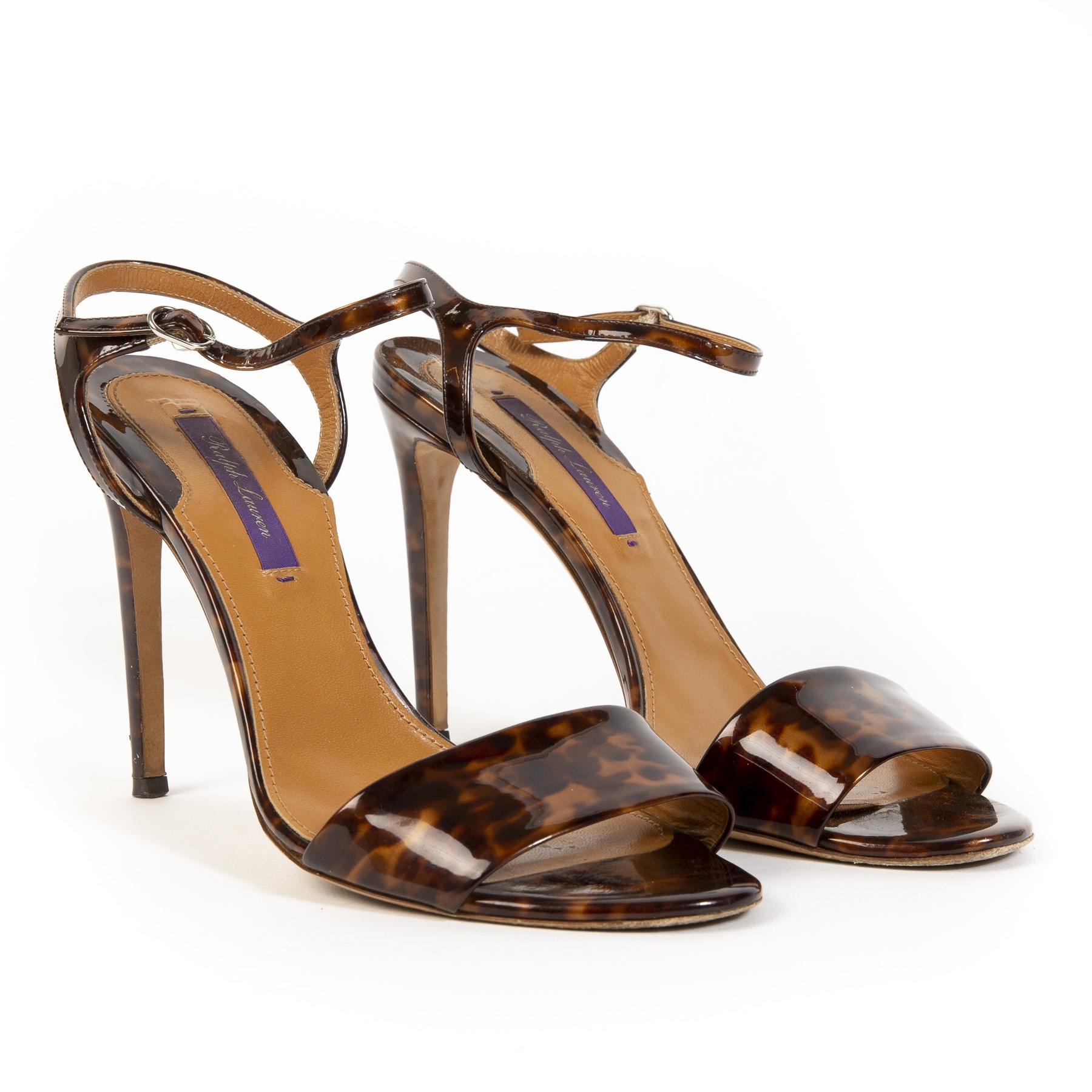 Buy authentic secondhand ralph lauren heels at labellov antwerp.
