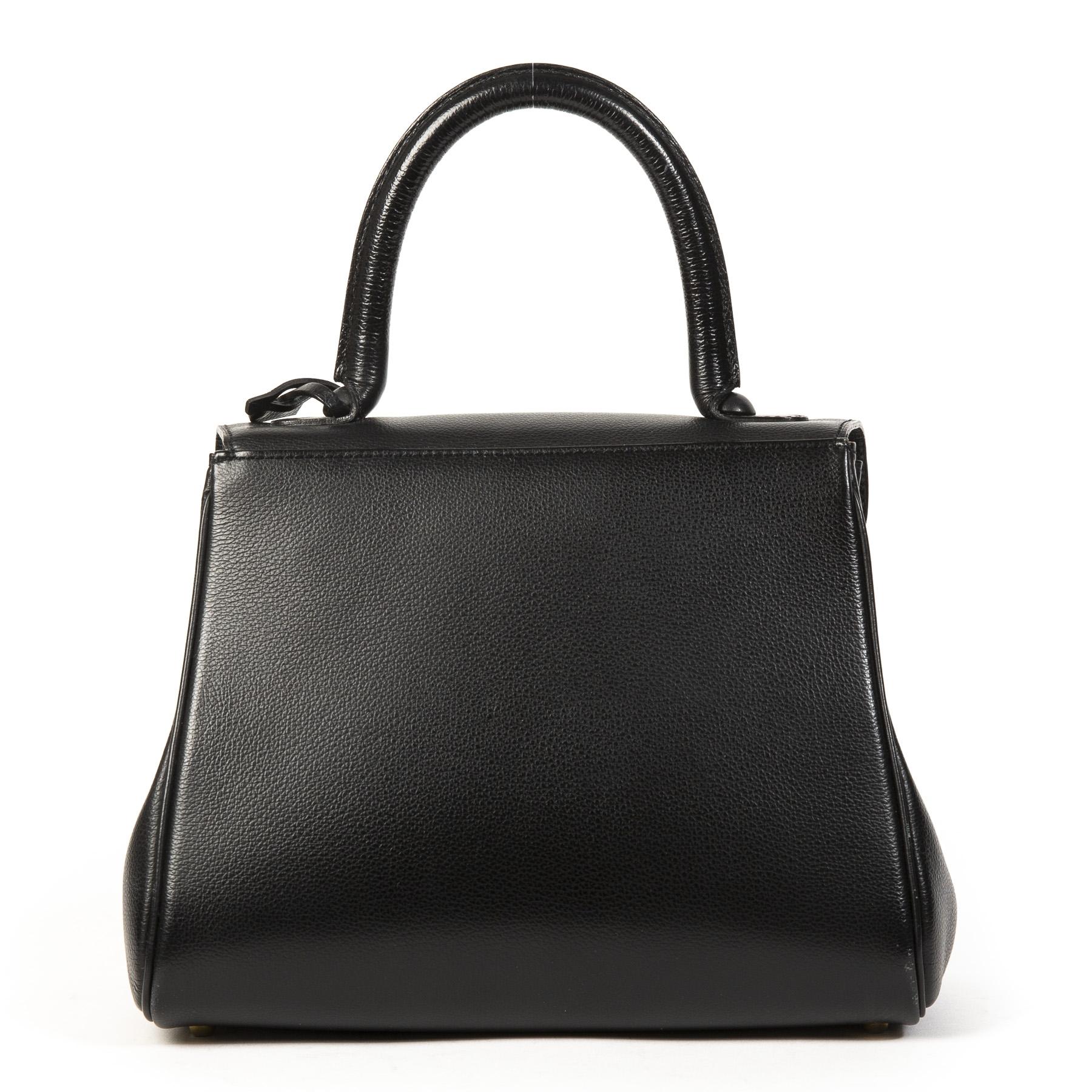 1f67e1449 ... Labellov We buy and sell your authentic designer Delvaux Black Brillant  PM GHW