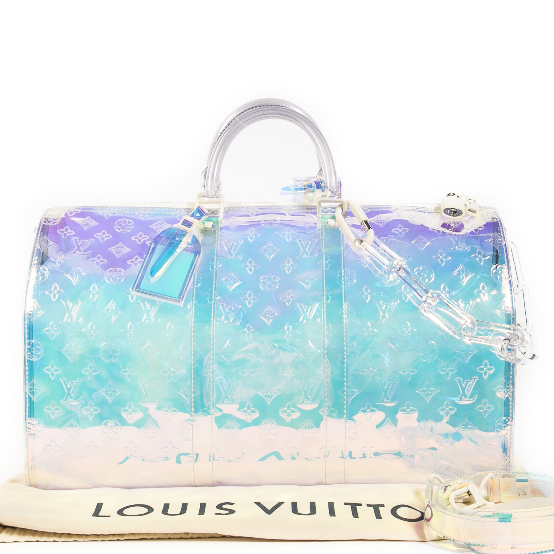 Louis Vuitton Keepall Bandouliere Monogram 50 Prism Limited Edition