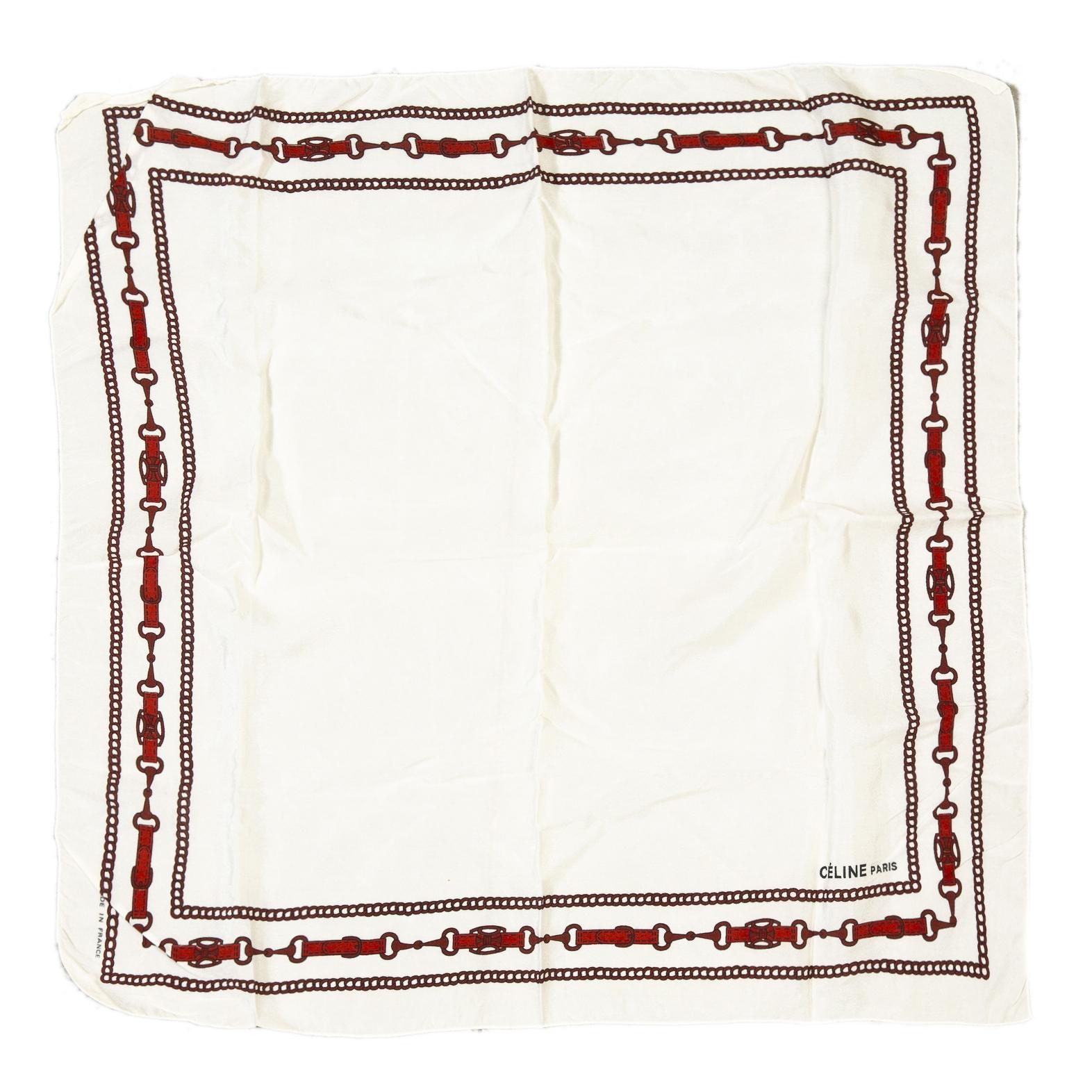 Koop online tweedehands Celine sjaal bij labellov antwerpen, designer vintage.
