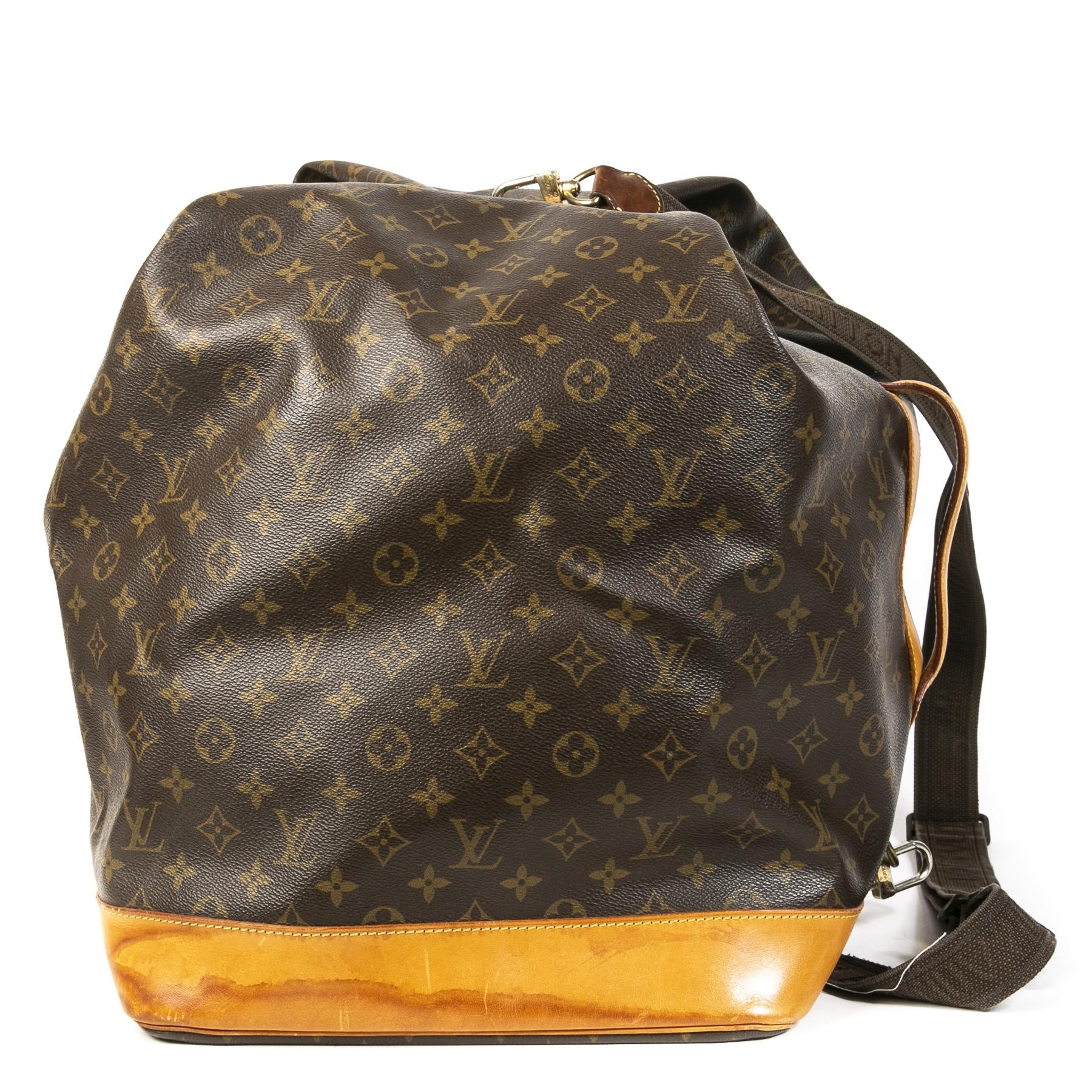 Authentieke Tweedehands Louis Vuitton Monogram Sac Marine Travel Bag juiste prijs veilig online shoppen luxe merken webshop winkelen Antwerpen België mode fashion