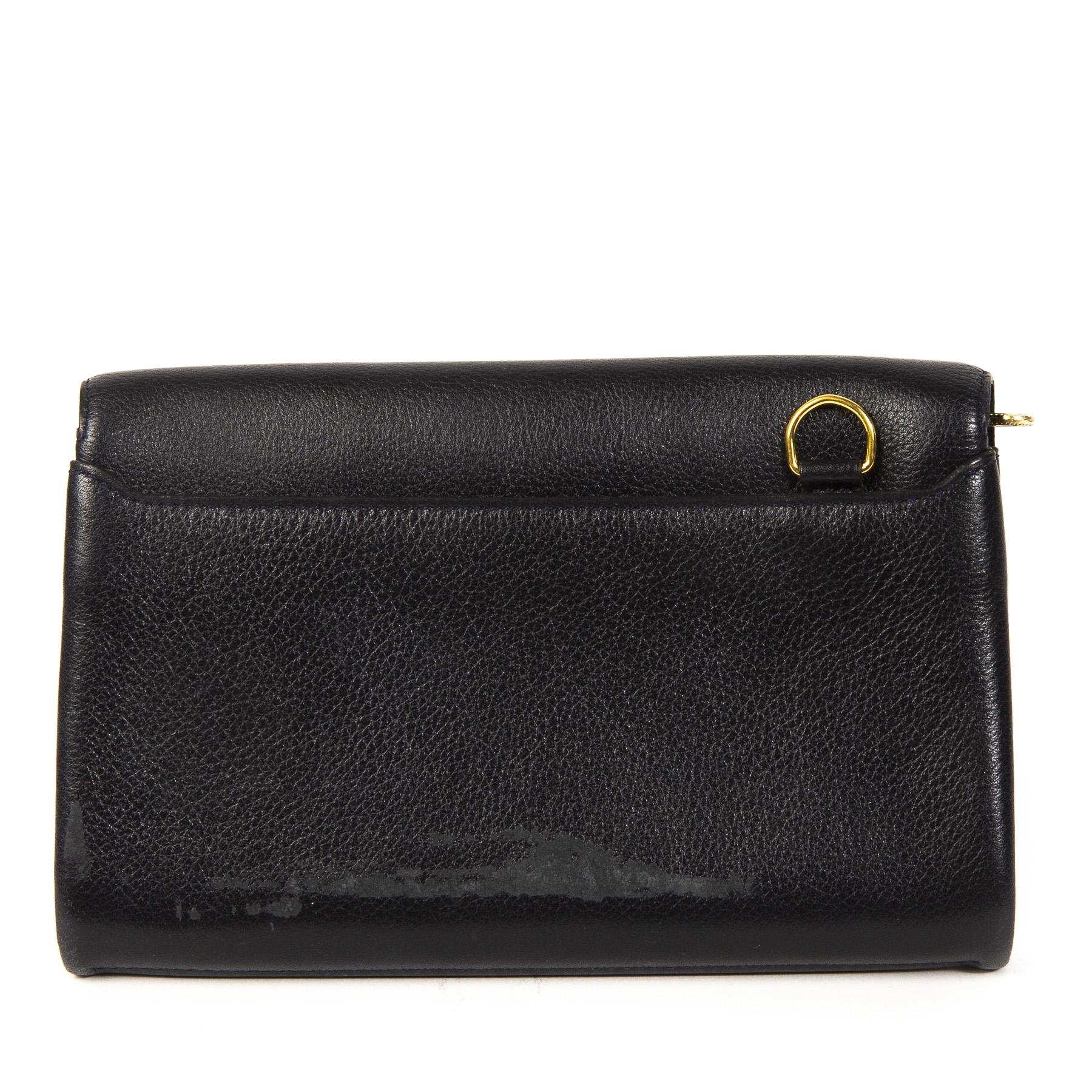 Delvaux Blue Leather Wallet