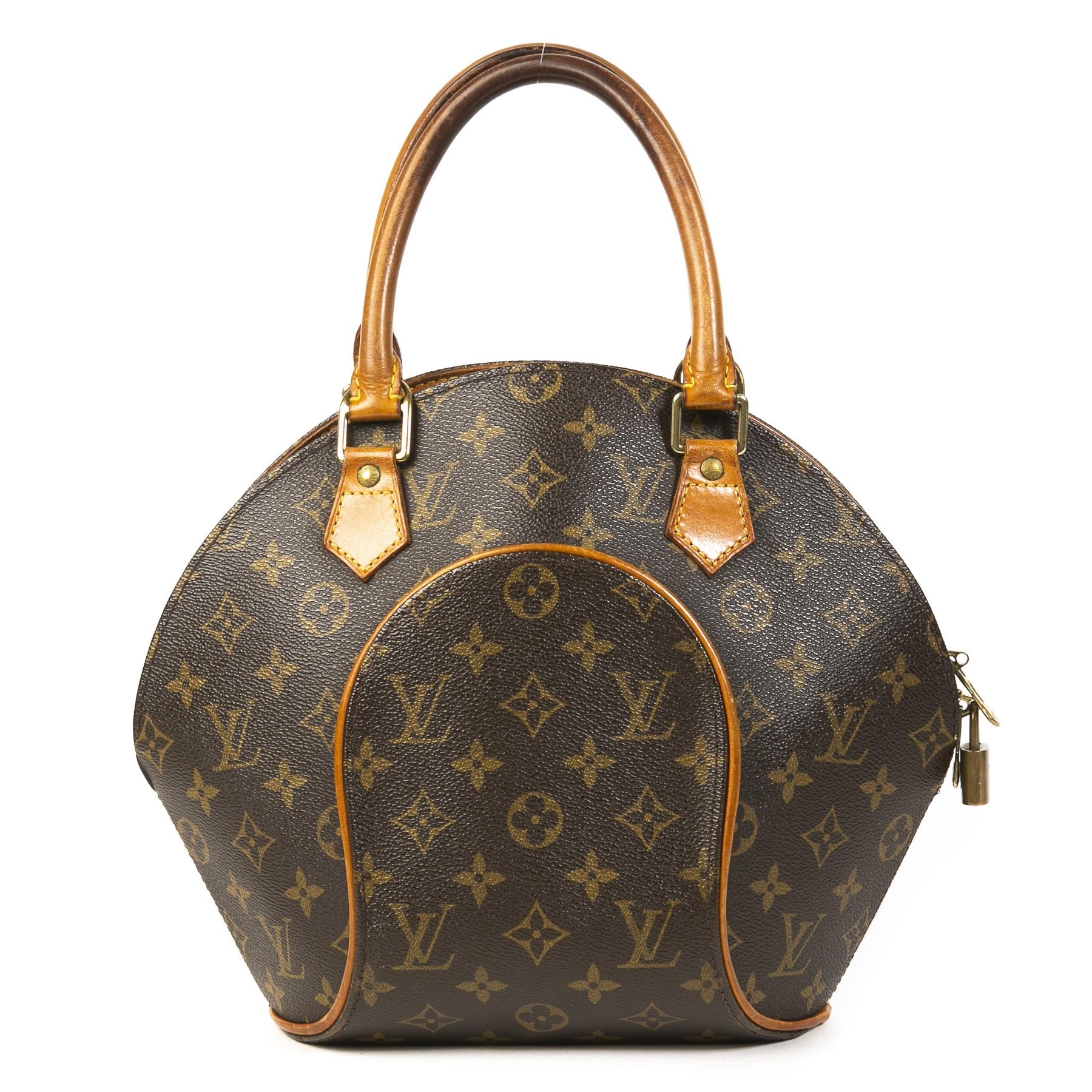 Authentieke tweedehands vintage Louis Vuitton Monogram Ellipse PM Bag koop online webshop LabelLOV