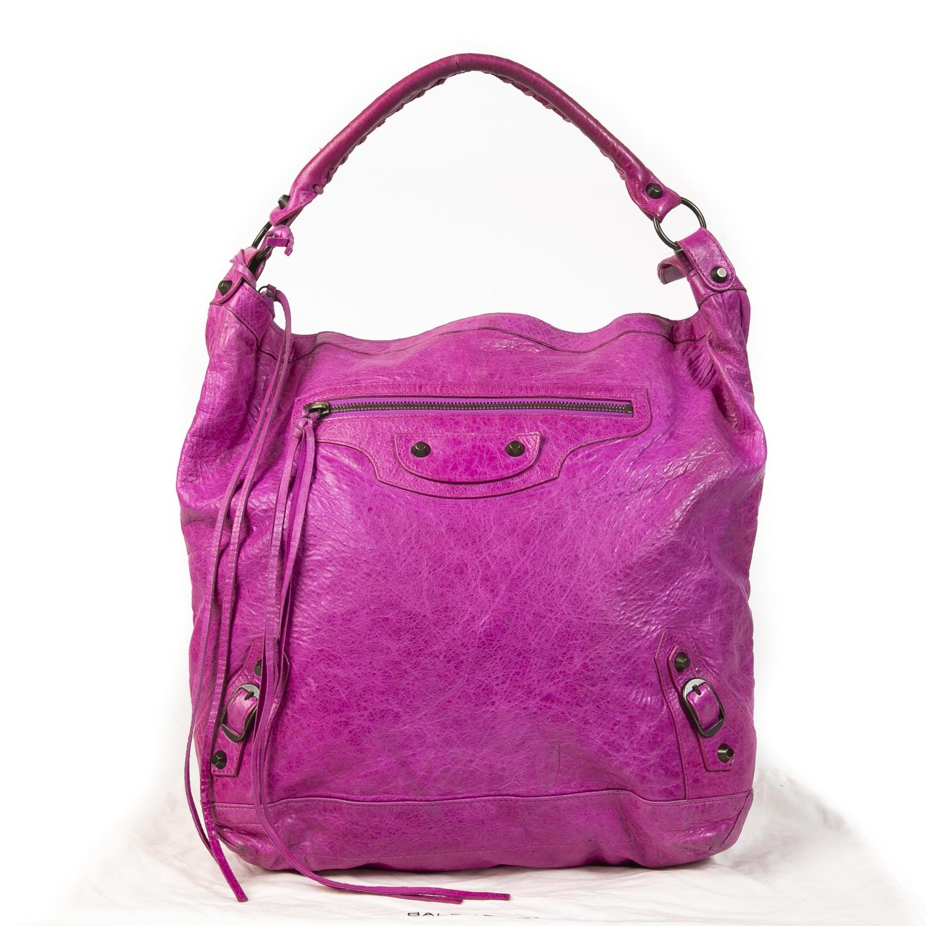 Balenciaga Fuchsia Classic Day Bag