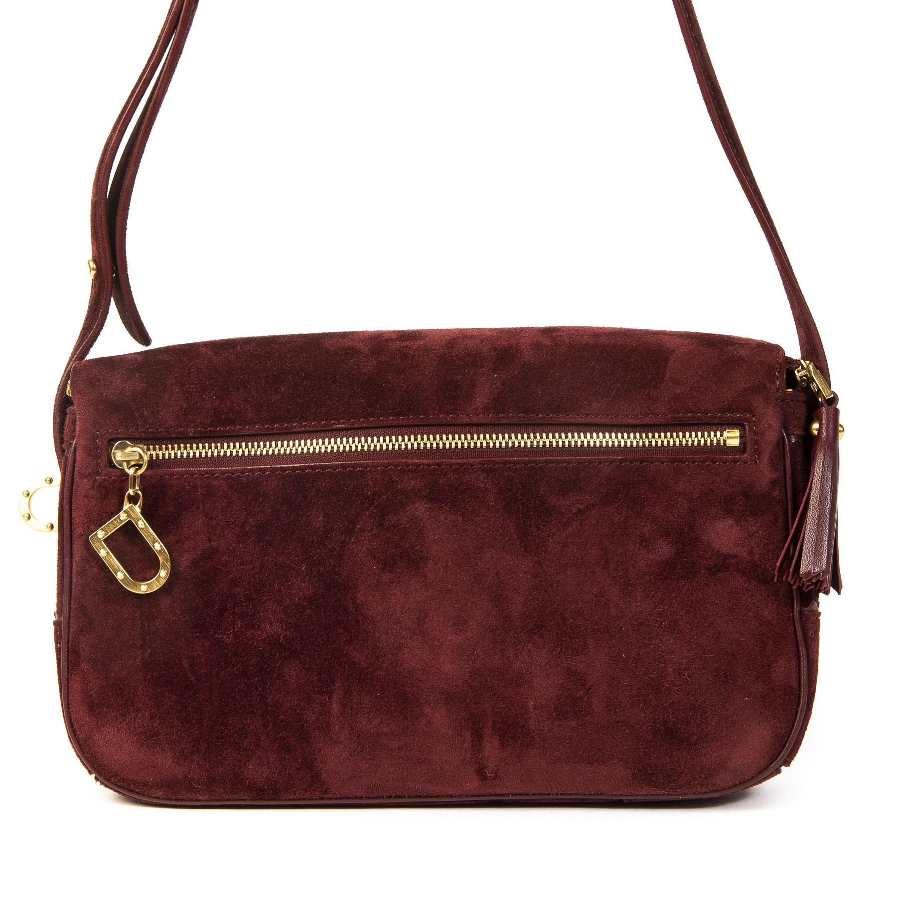 Delvaux Suede Marie Crossbody Bag