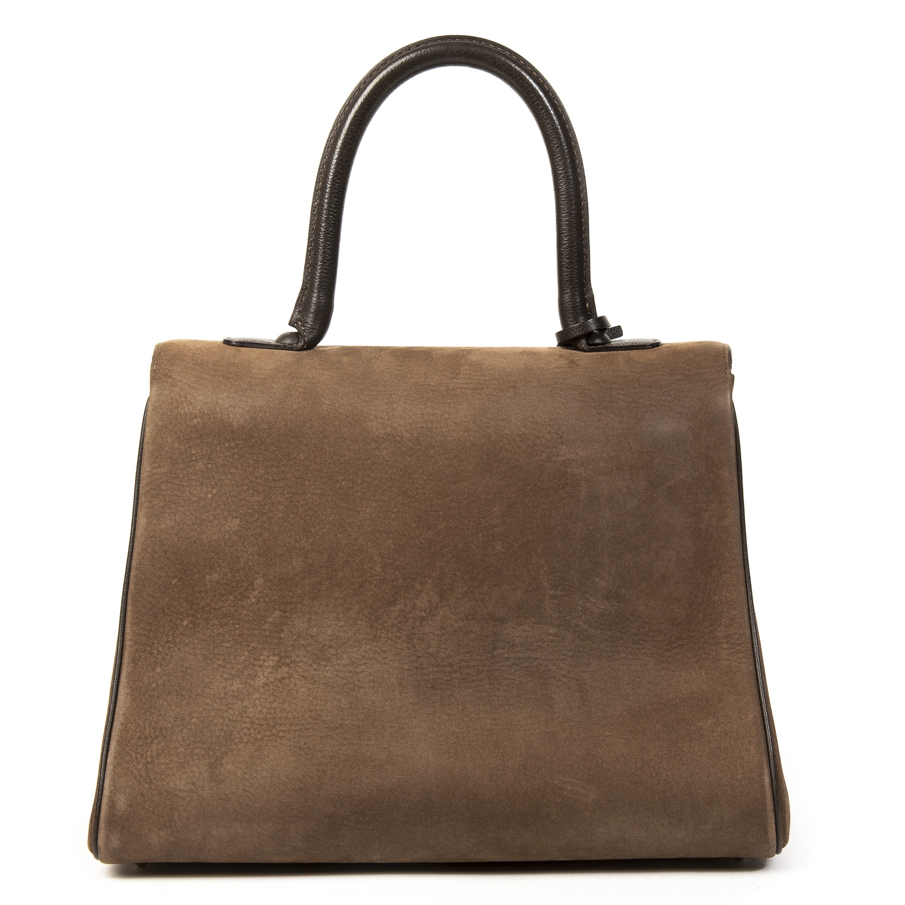 Buy this authentic second-hand vintageDelvaux Brillant MM Dark Brown Nubuck GHW at online webshop LabelLOV. Safe and secure shopping. Koop deze authentieke tweedehands vintage Delvaux Brillant MM Dark Brown Nubuck GHW  bij online webshop LabelLOV.
