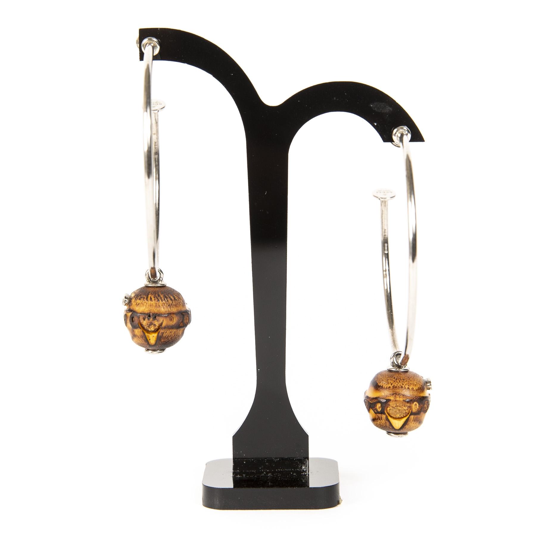 Koop auhtentieke Gucci oorbellen aan de juiste prijs bij LabelLOV vintage webshop