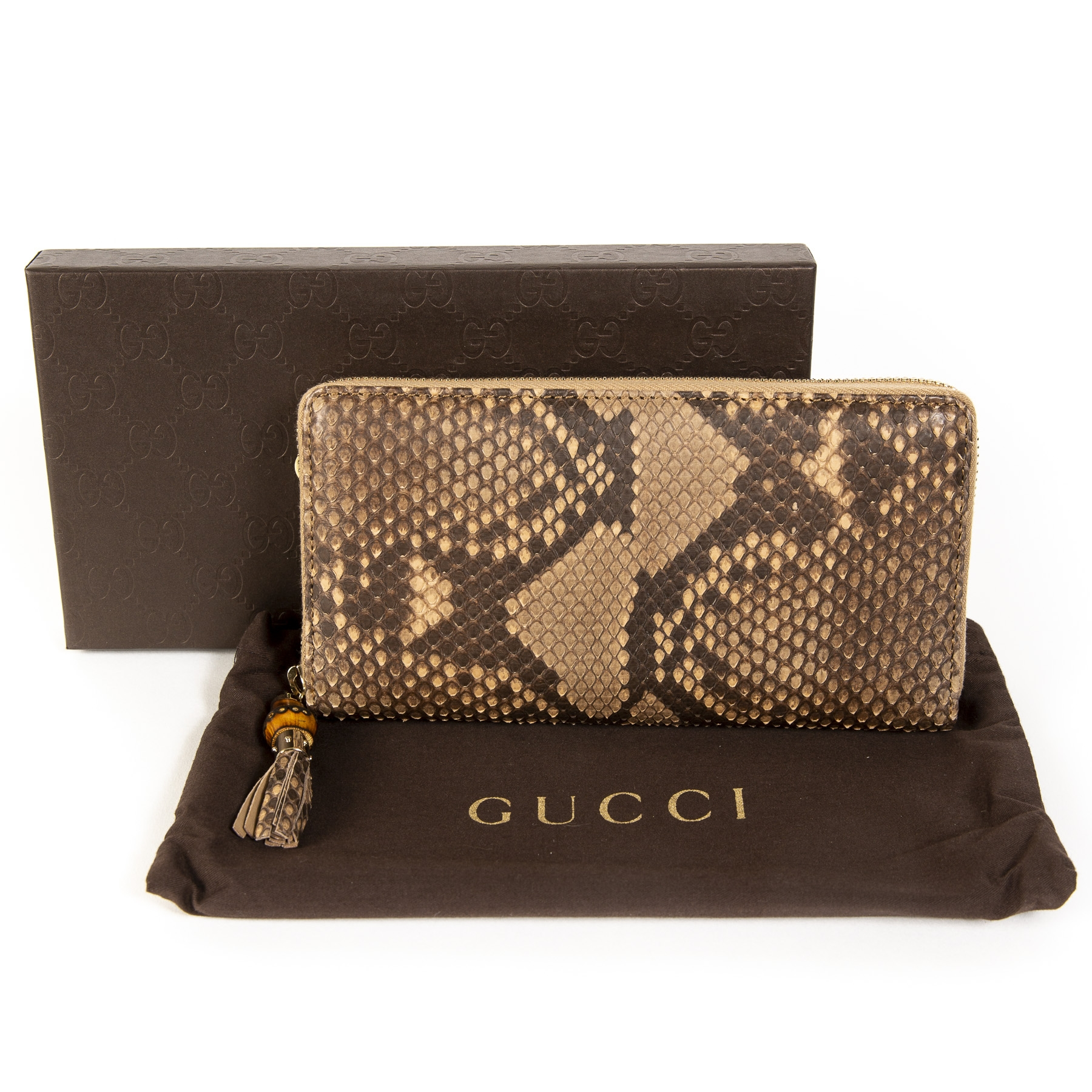 Gucci Python Wallet