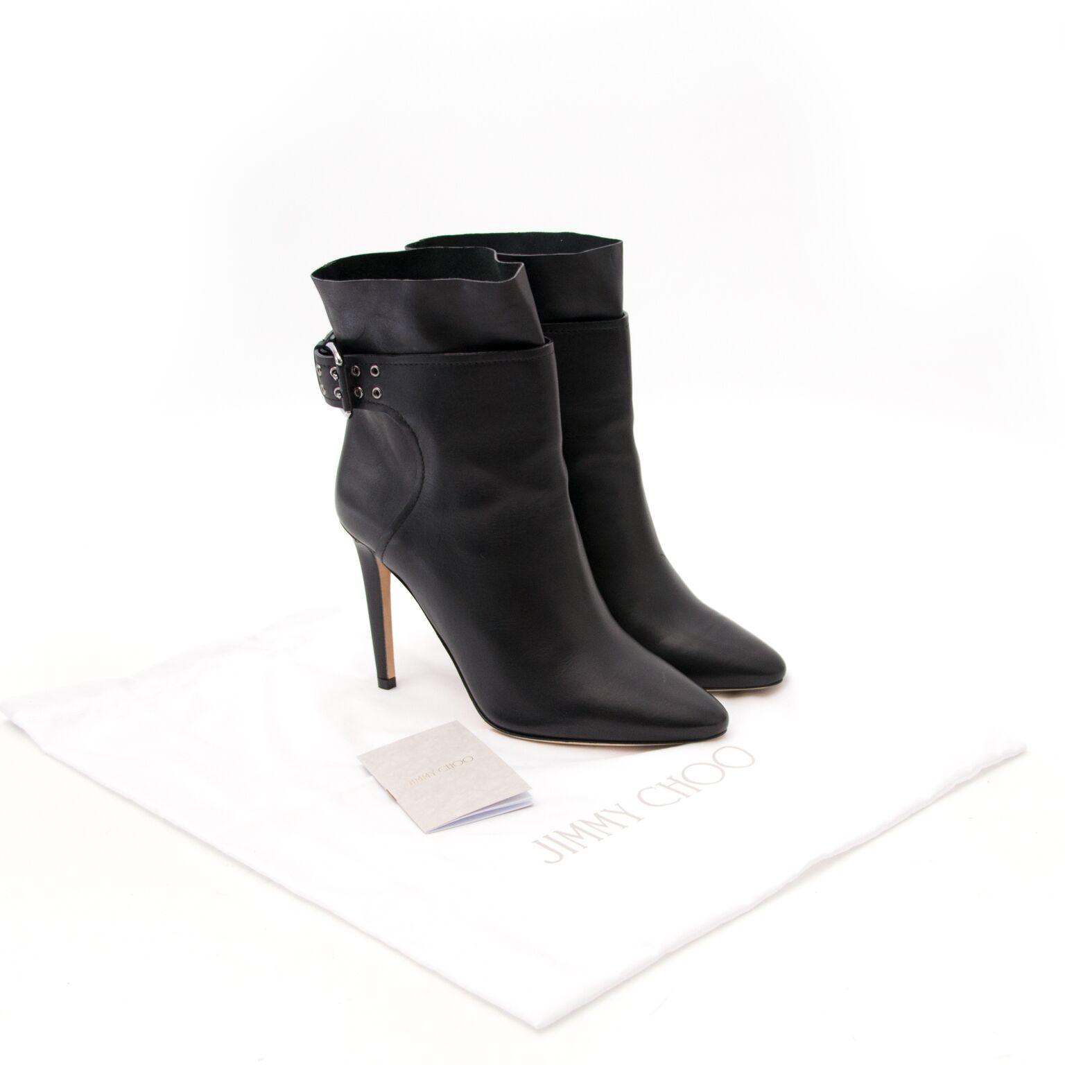 achetez maintenant des bottes de jimmy choo chez labellov.com