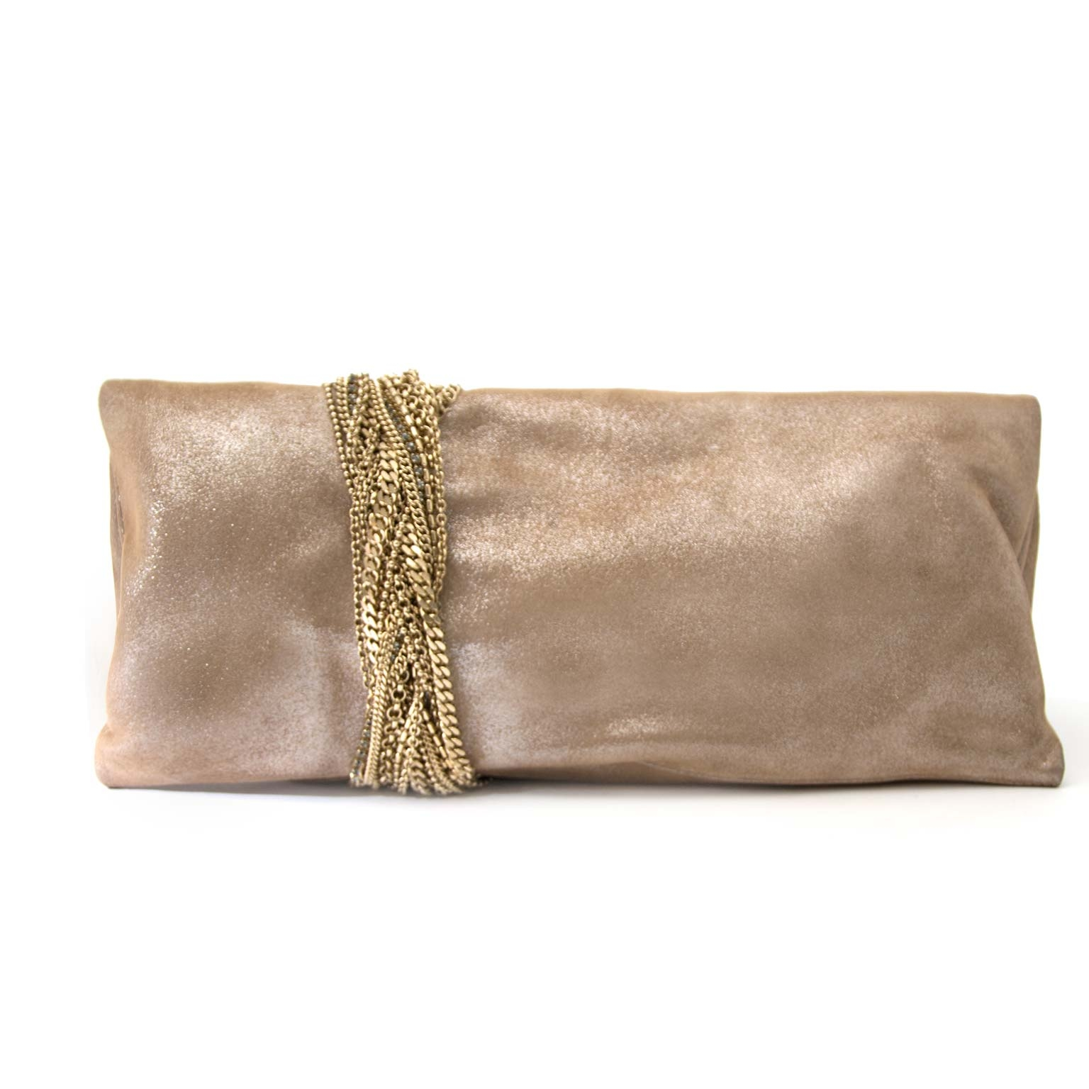 624cde92a142 ... Jimmy Choo Chandra Sand Summer Suede Clutch online available at online shop  labellov antwerp belgium