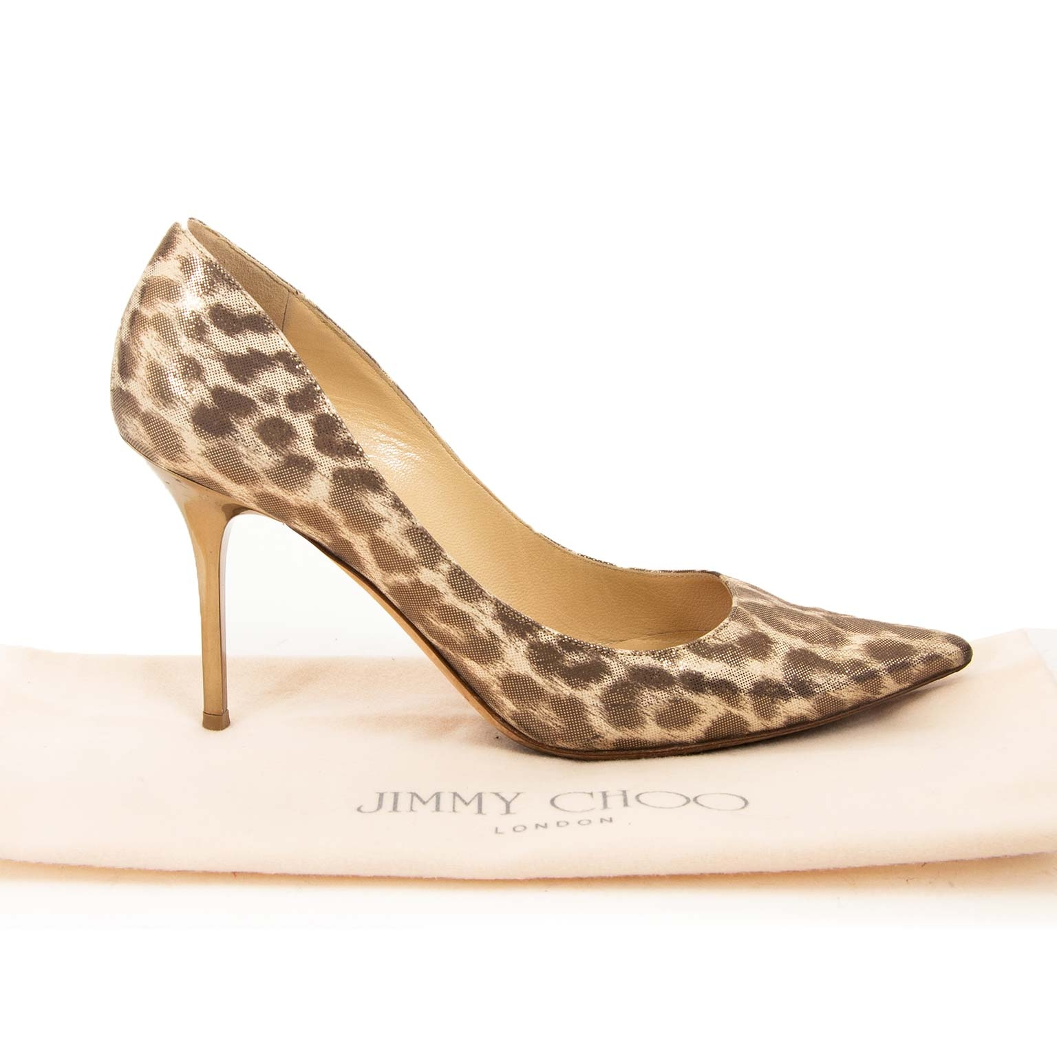 jimmy choo leopard pumps now for sale at labellov vintage fashion webshop belgium