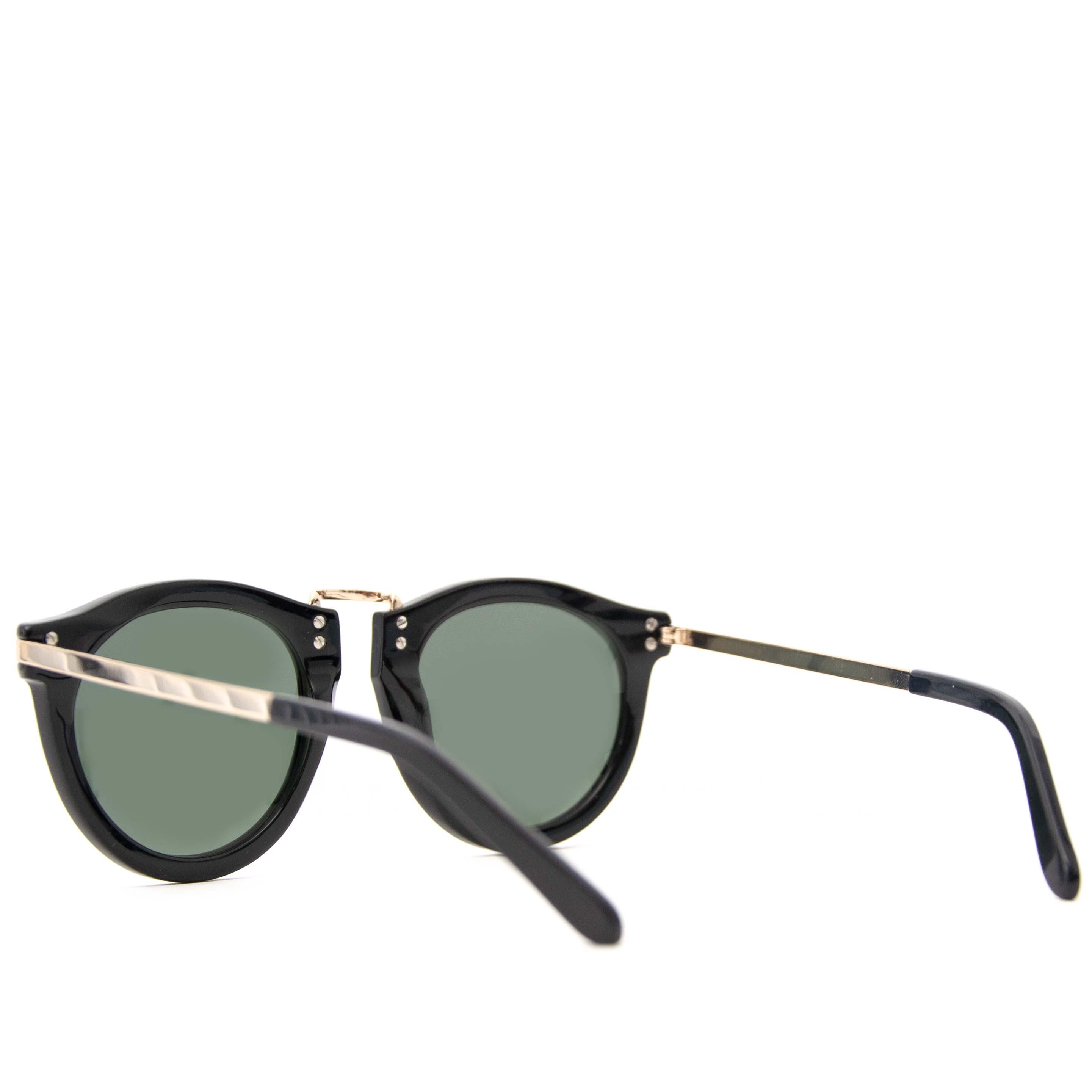 shop safe online secondhand Karen Walker Black Metal Harvest Sunglasses