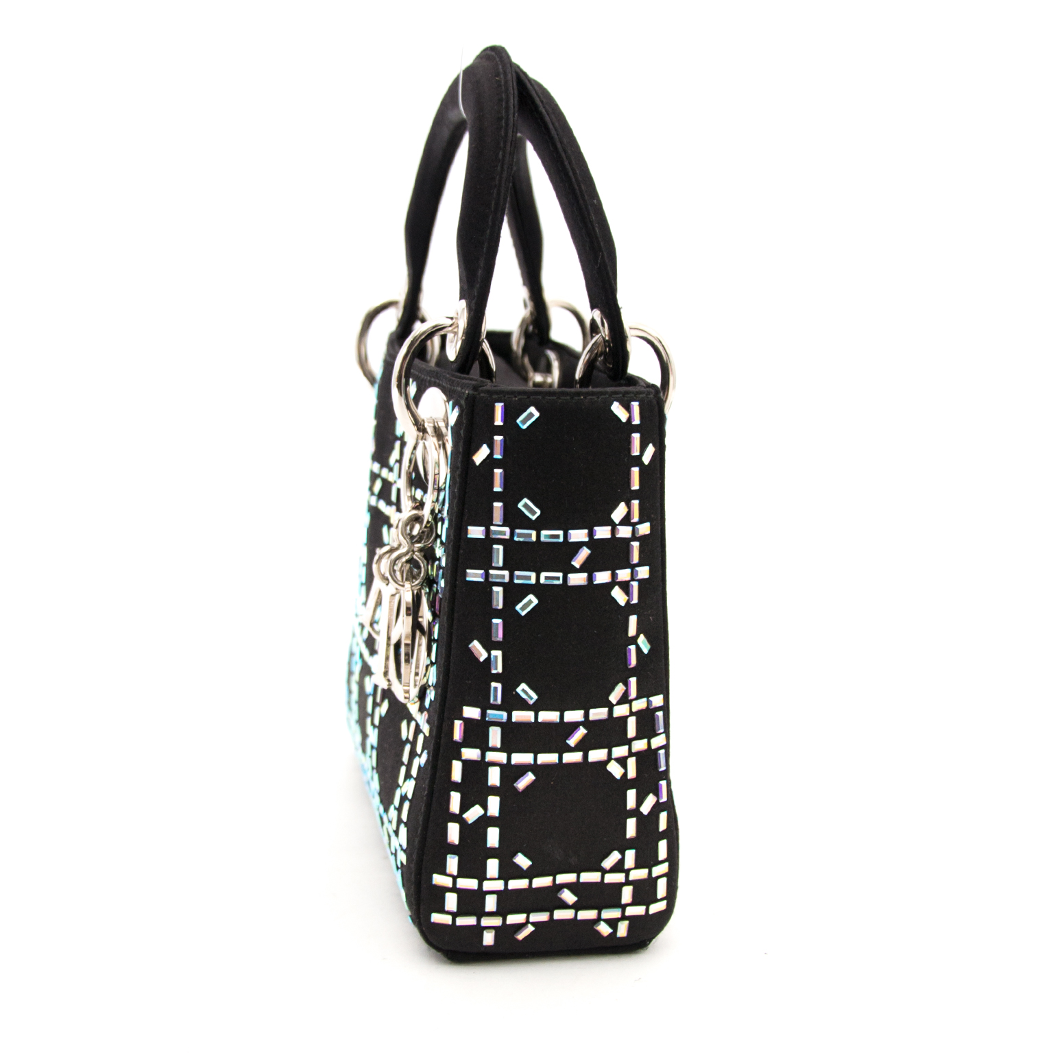 Mini Embellished Lady Dior Bag for sale at the right price at Labellov.com