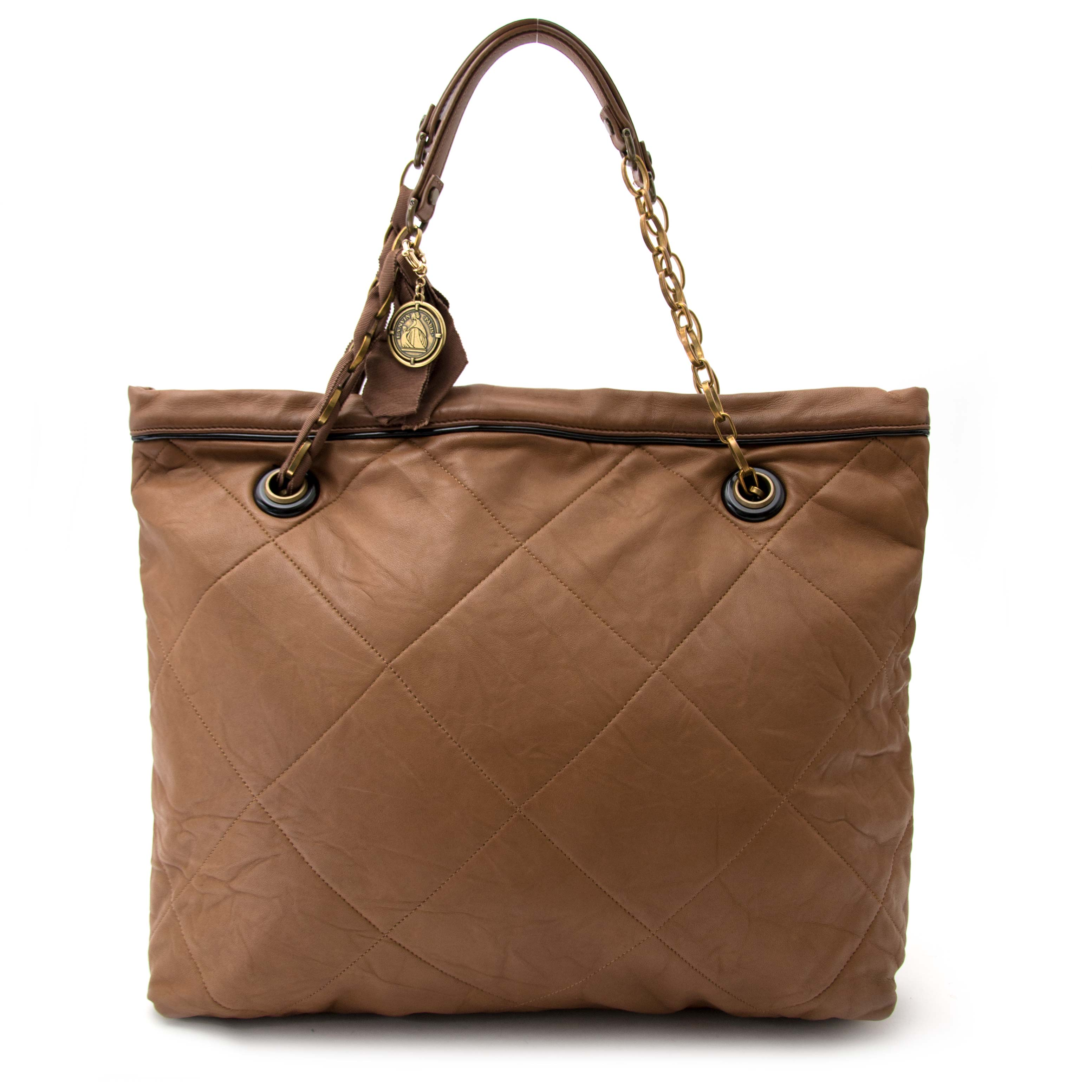 shop safe and secure online at labellov.com for the best price lanvin amalia tote