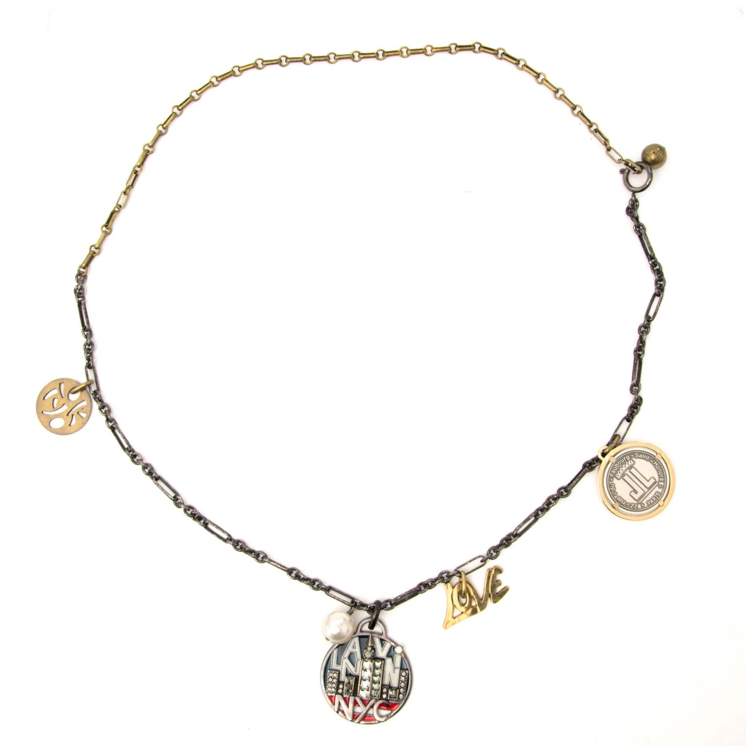 Beautiful Lanvin Necklace now for sale on labellov.com