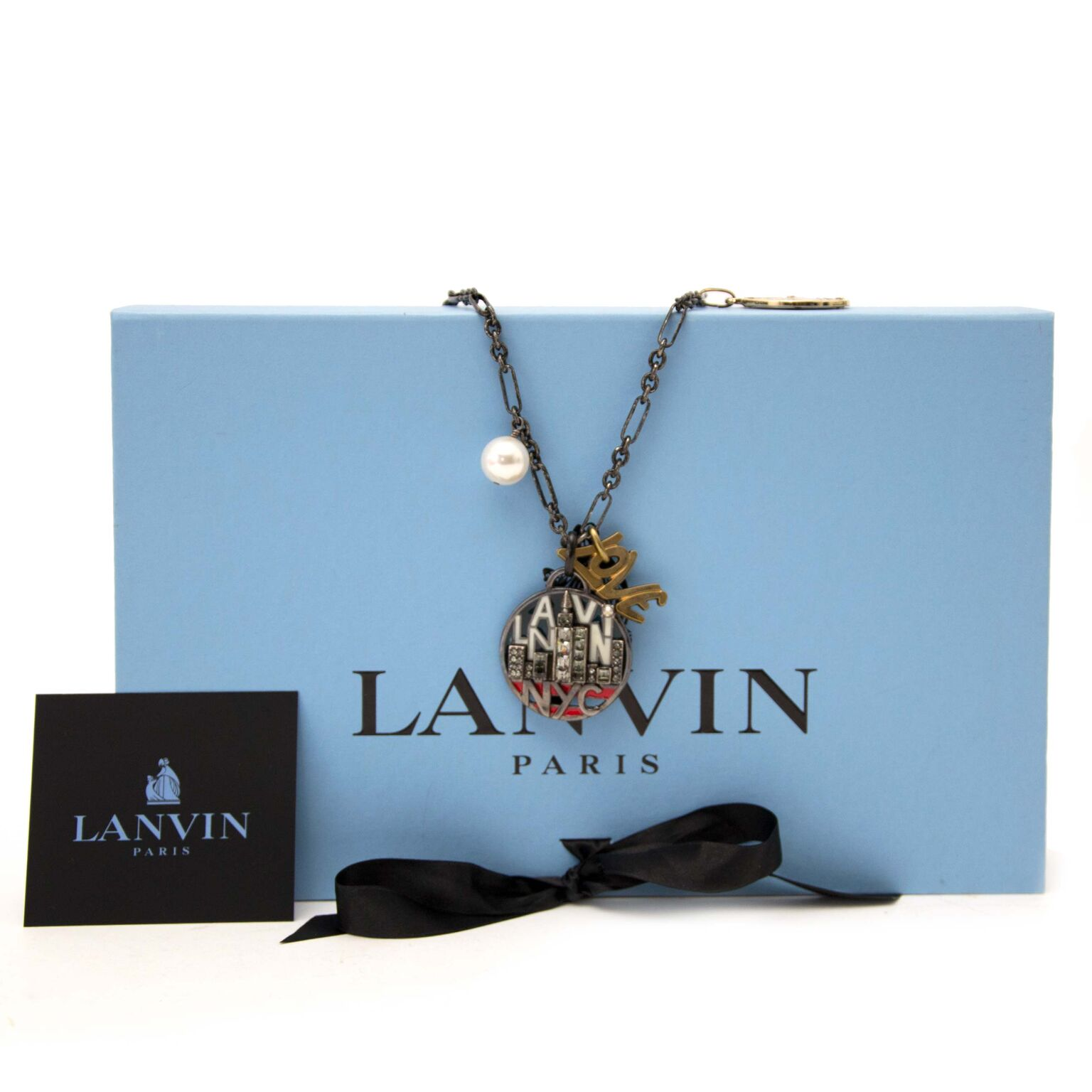 Prachtige Lanvin ketting nu te koop op labellov.com