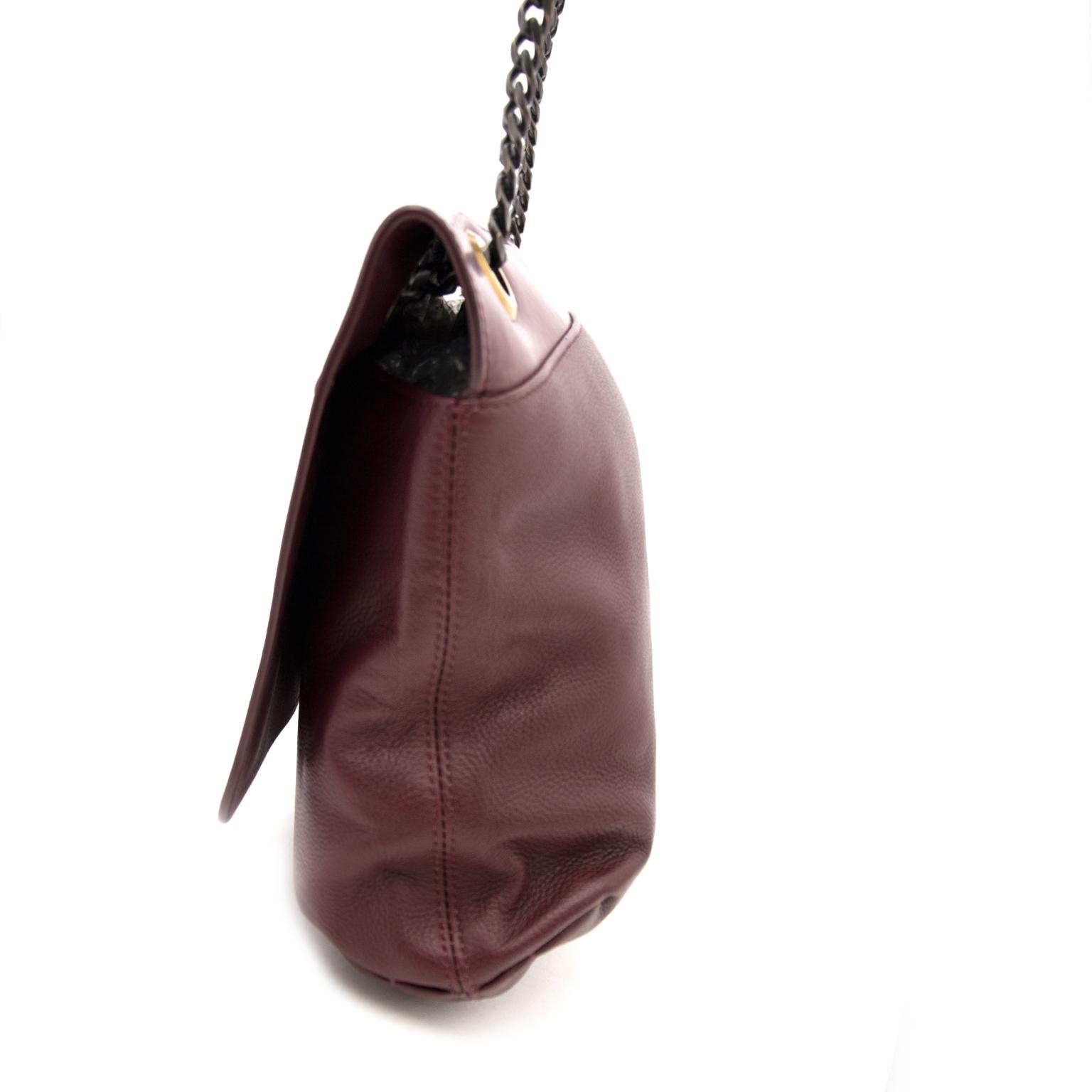 Lanvin Prune Happy Bag MM Uit Kalfsleder nu online op labellov.com tegen de beste prijs.
