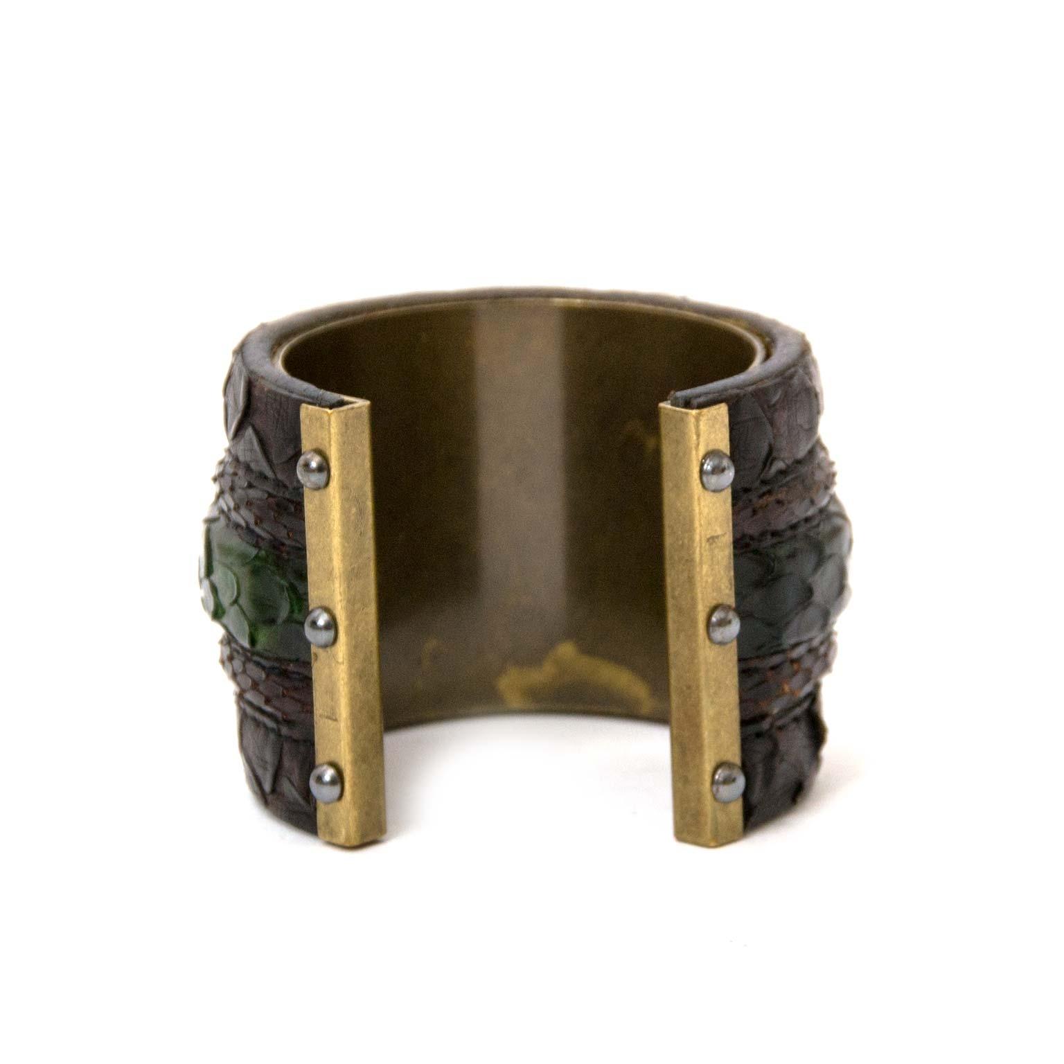 Buy authentic Lanvin bracelets at Labellov vintage fashion webshop Belgium