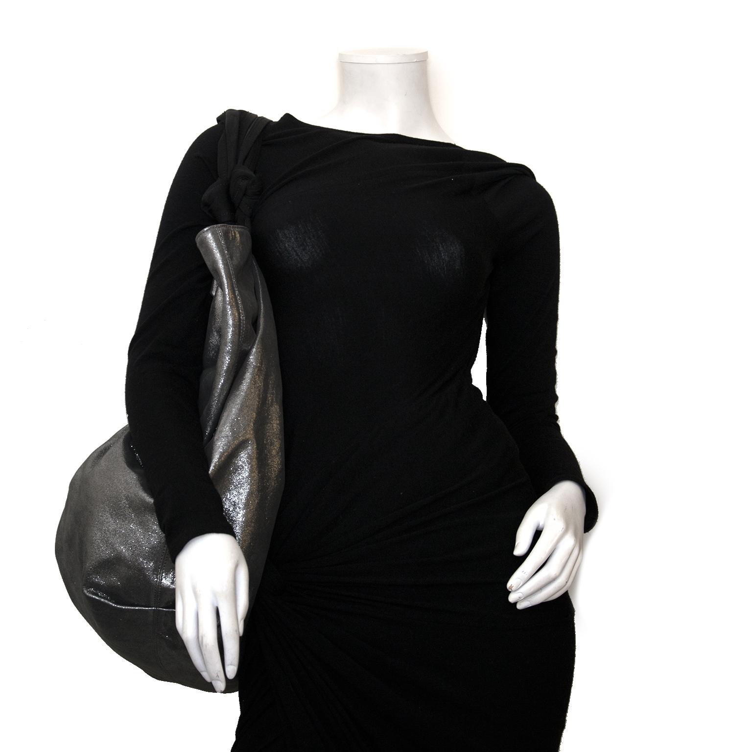 lanvin silver polisson gm bag now for sale at labellov vintage fashion webshop belgium