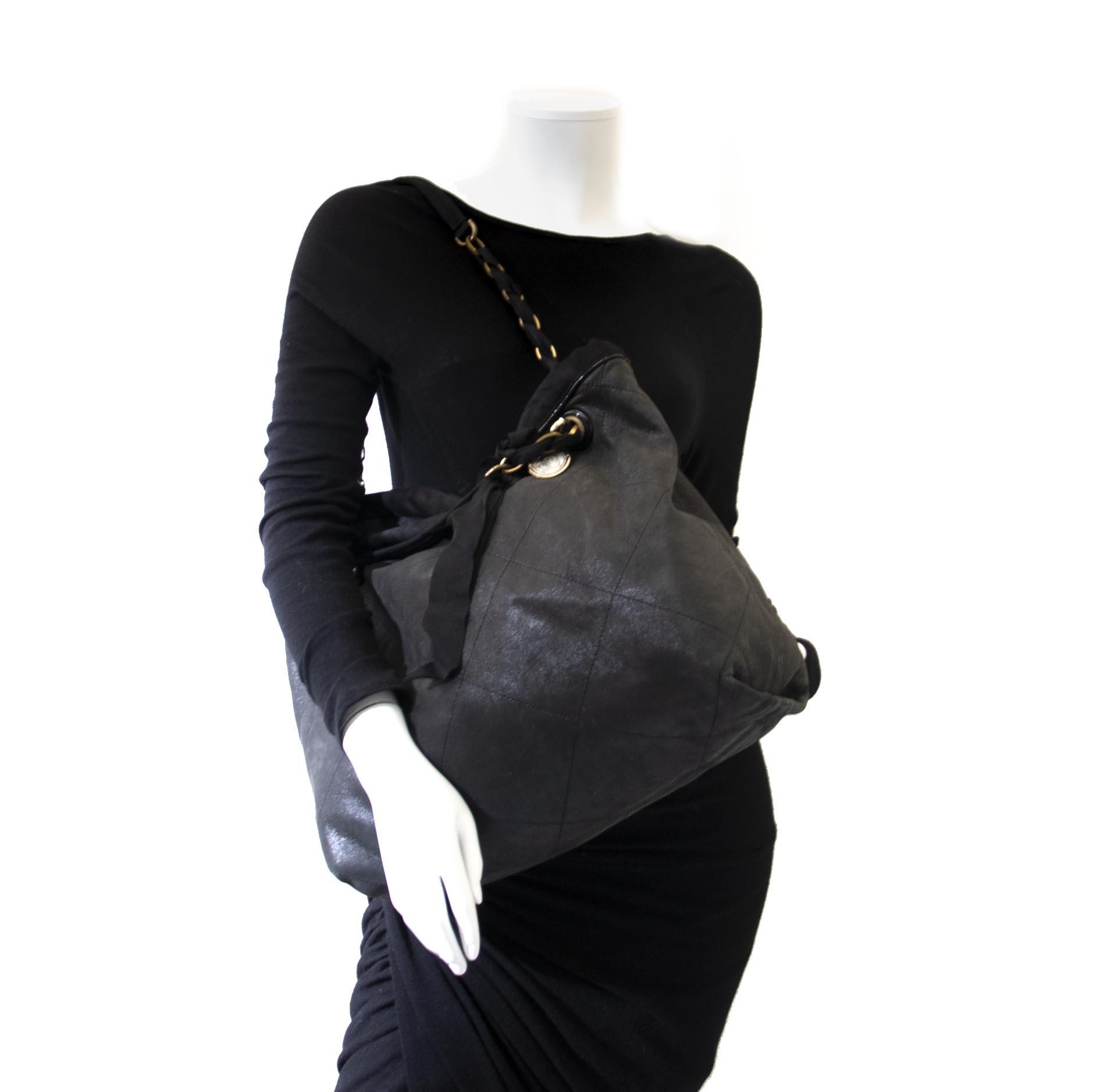 Lanvin Black Amalia Tote Bag kopen en verkopen aan de beste prijs bij Labellov tweedehands luxe
