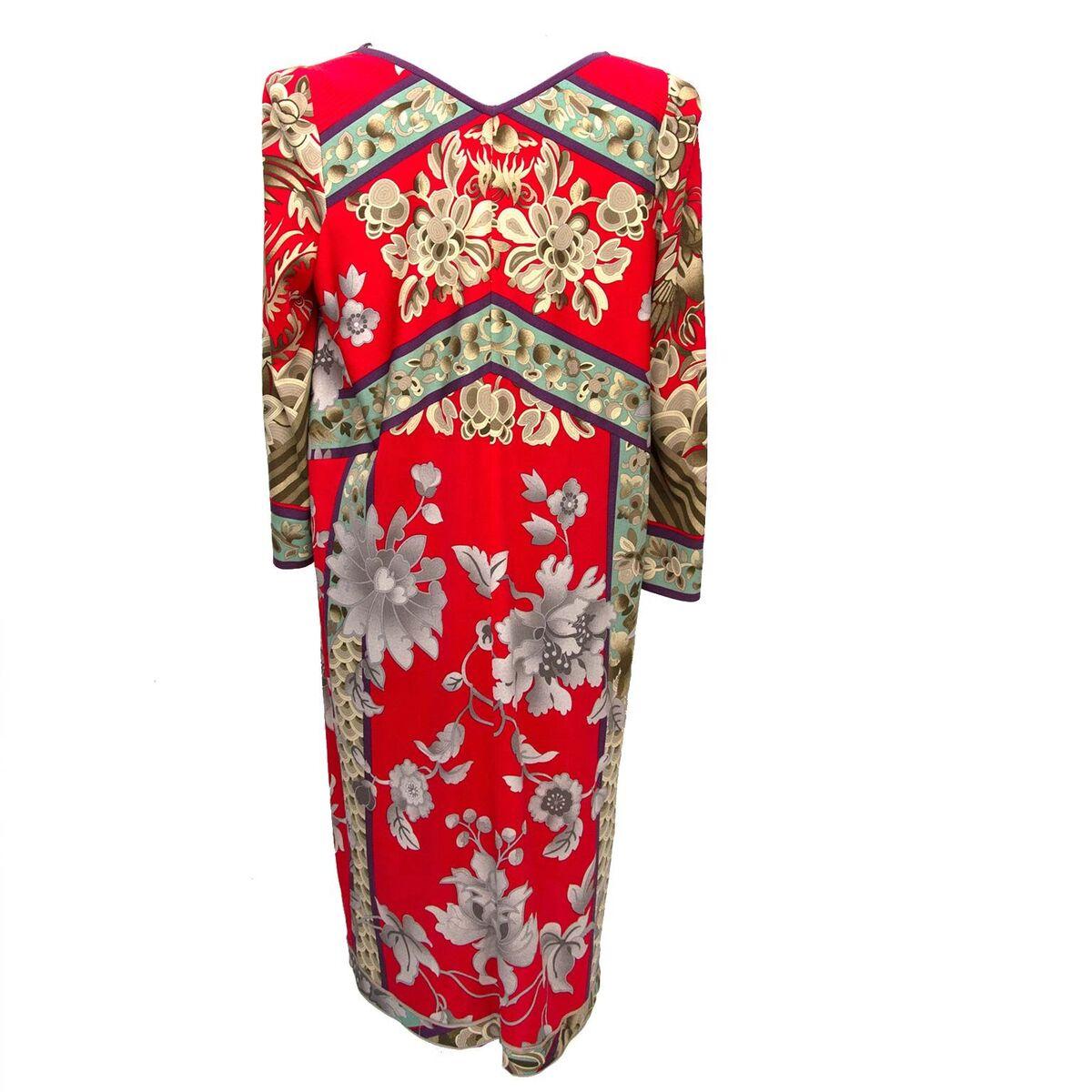 Koop authentieke Leonard Floral Red Dress aan een eerlijke prijs bij LabelLOV. Veilig online shoppen.