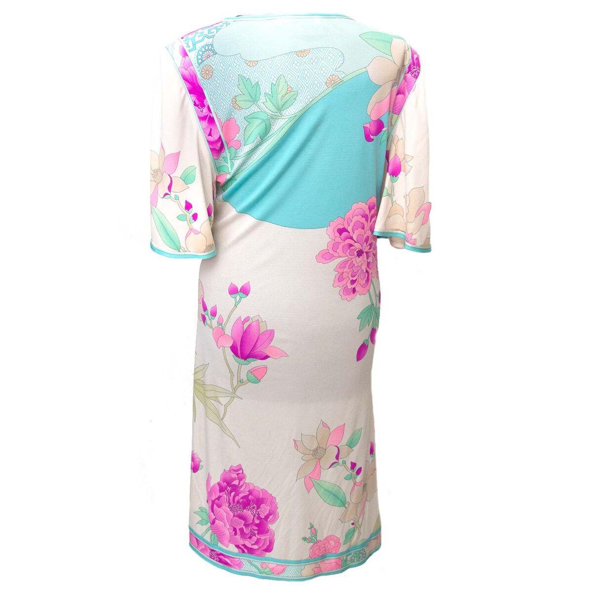 Koop authentieke tweedehands Leonard witte floral jurken aan een eerlijke prijs bij LabelLOV. Veilig online shoppen.