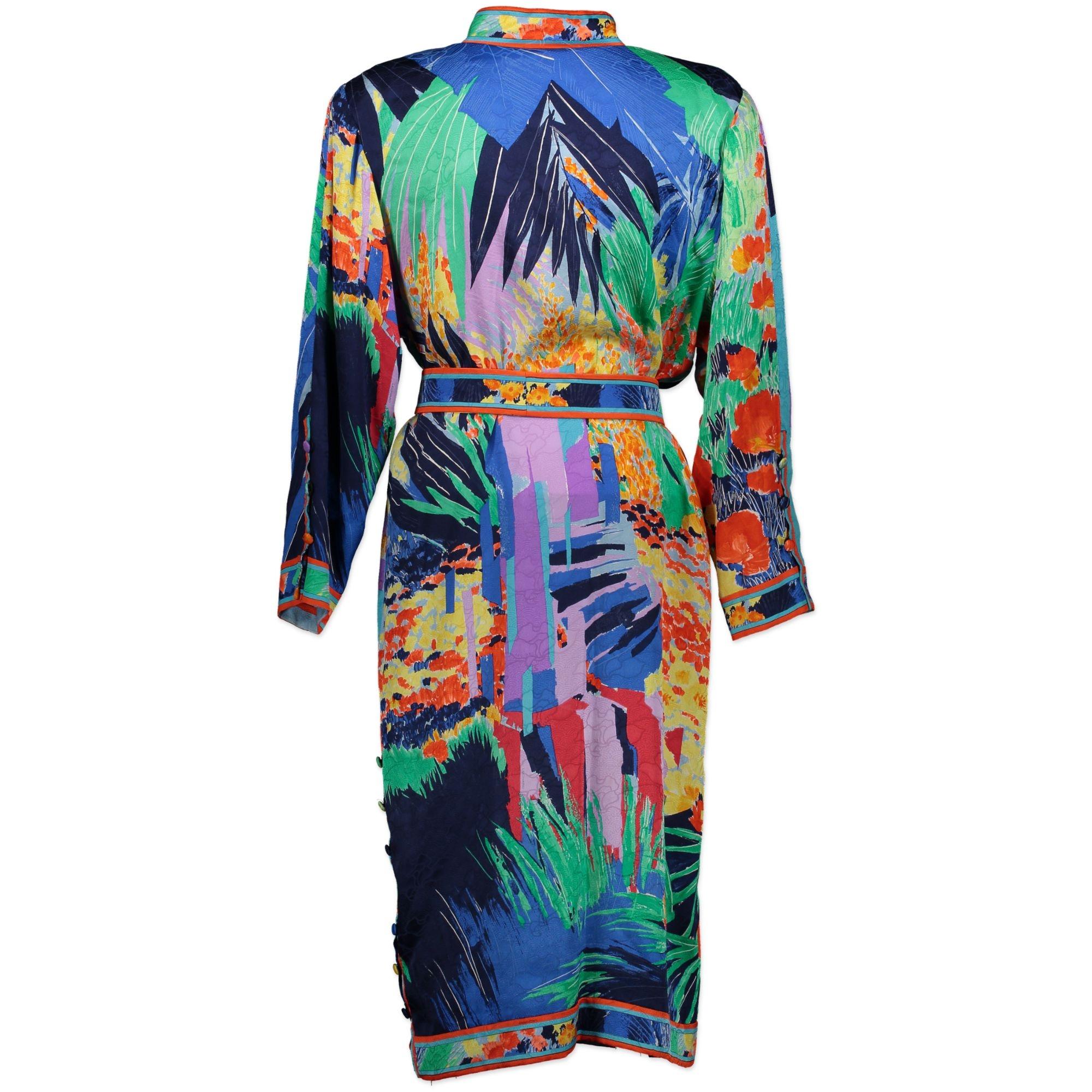 Leonard Multicolor Shirt Dress Size TU