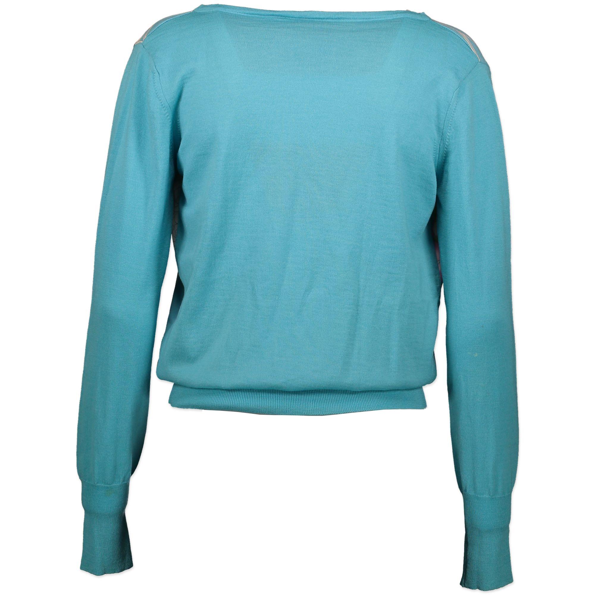 Vintage Leonard blue floral top bij Labellov. Veilig online winkelen voor een eerlijke prijs